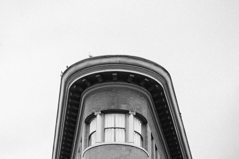 Flatiron Building Gas Town Vancouver