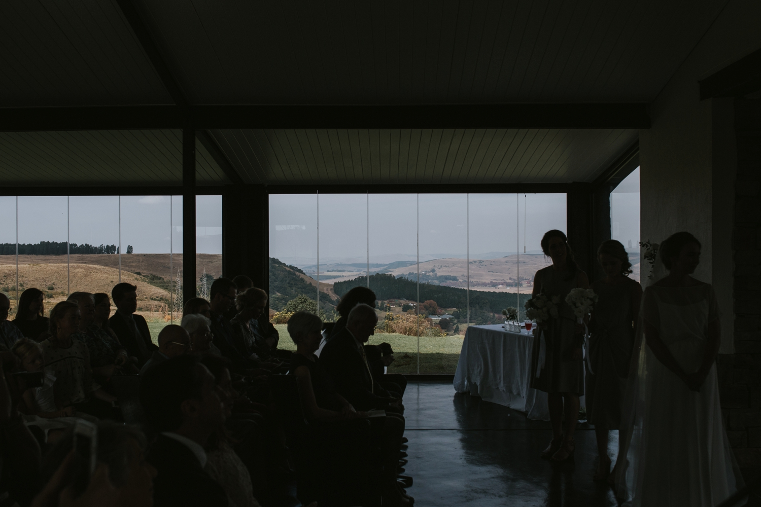 Wedding ceremony at Netherwood Chapel Wedding Venue in the Natal Midlands