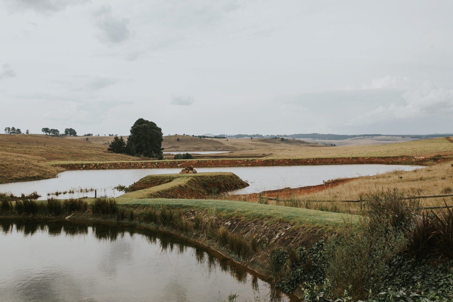 View of dam at Netherwood Wedding Venue in the Natal Midlands
