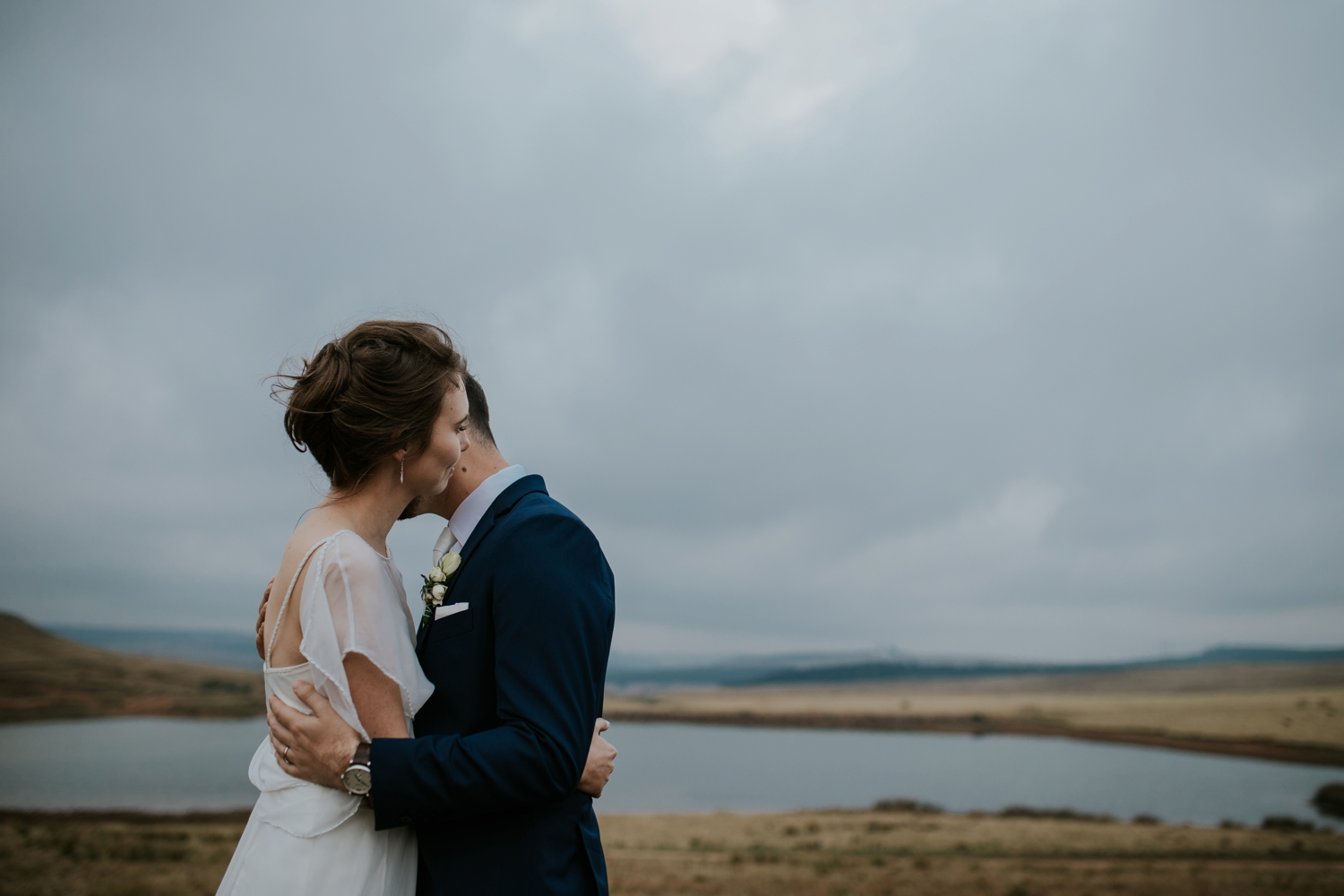 Candid Wedding Portraits by Photojournalistic Vancouver Wedding Photographer in Nature