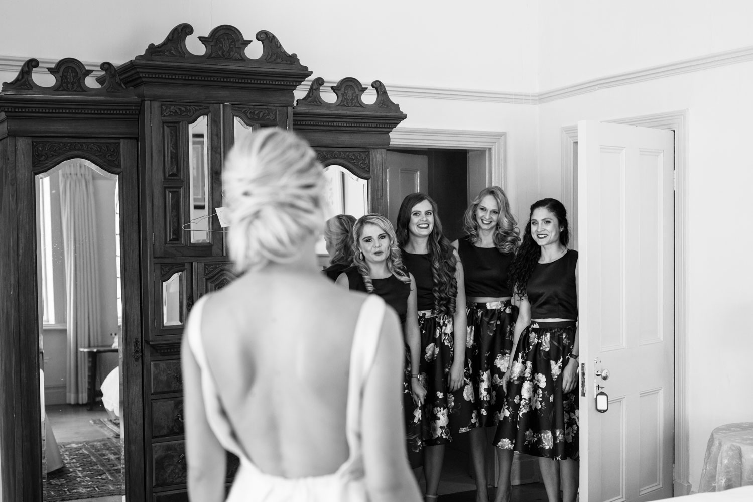 Bridesmaids Reveal Emotional Moment When Bridesmaids See Bride For The First Time