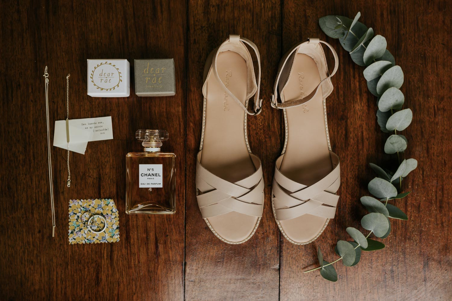 Bride Accessories Flat Lay Vancouver Wedding