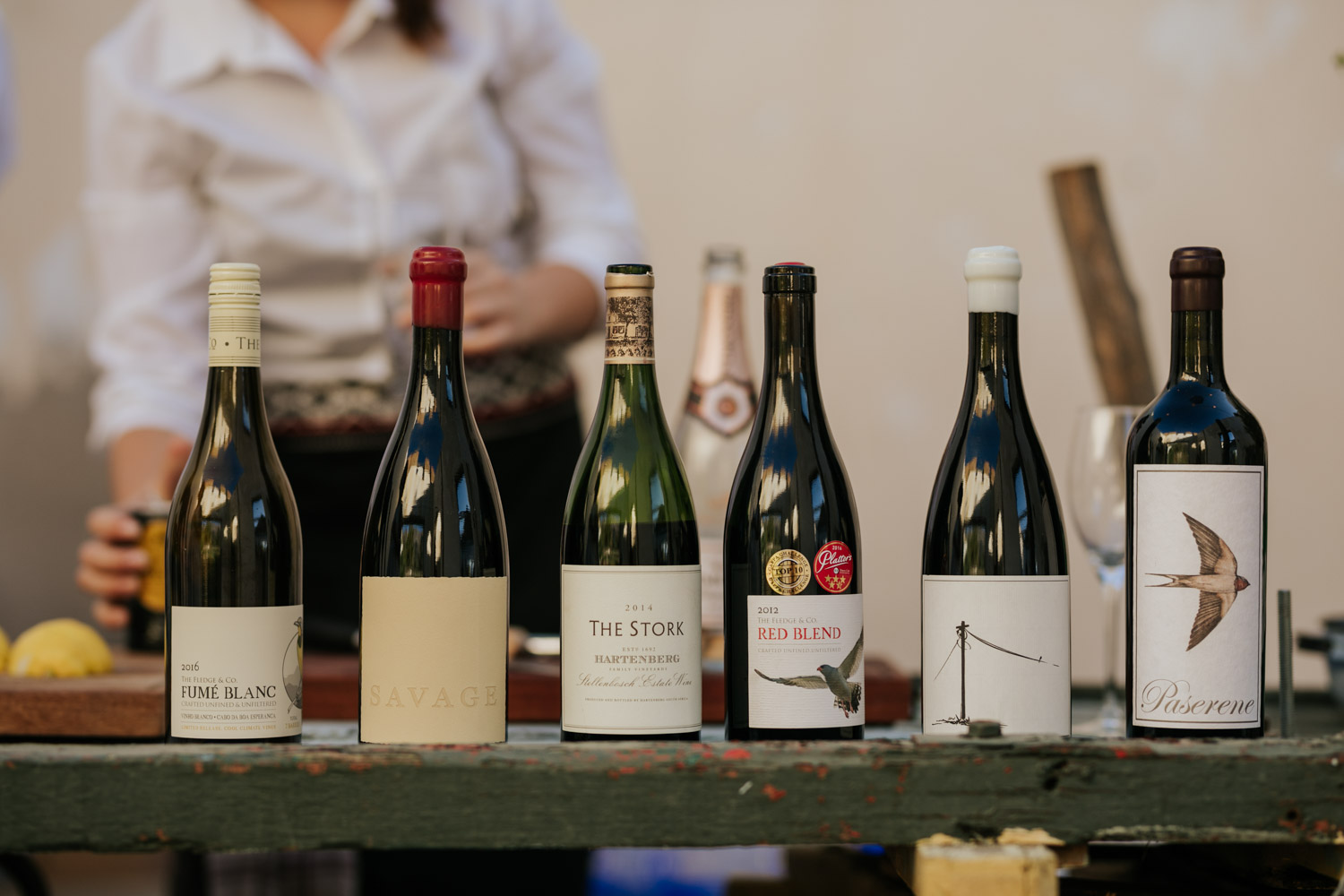 Some of the best South African wines to serve at your wedding