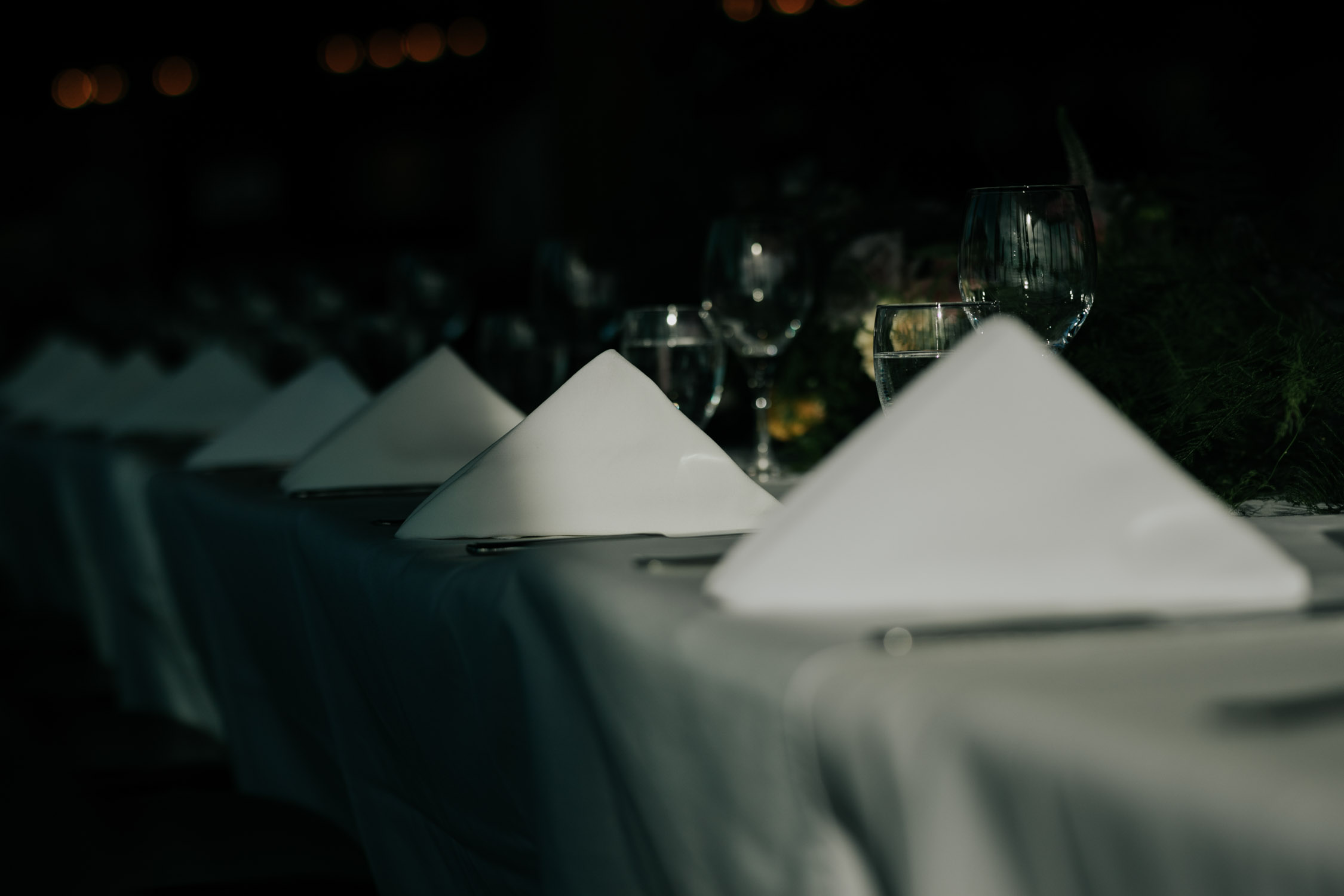 Minimalist Interior Wedding Venue Vancouver Altitudes Bistro
