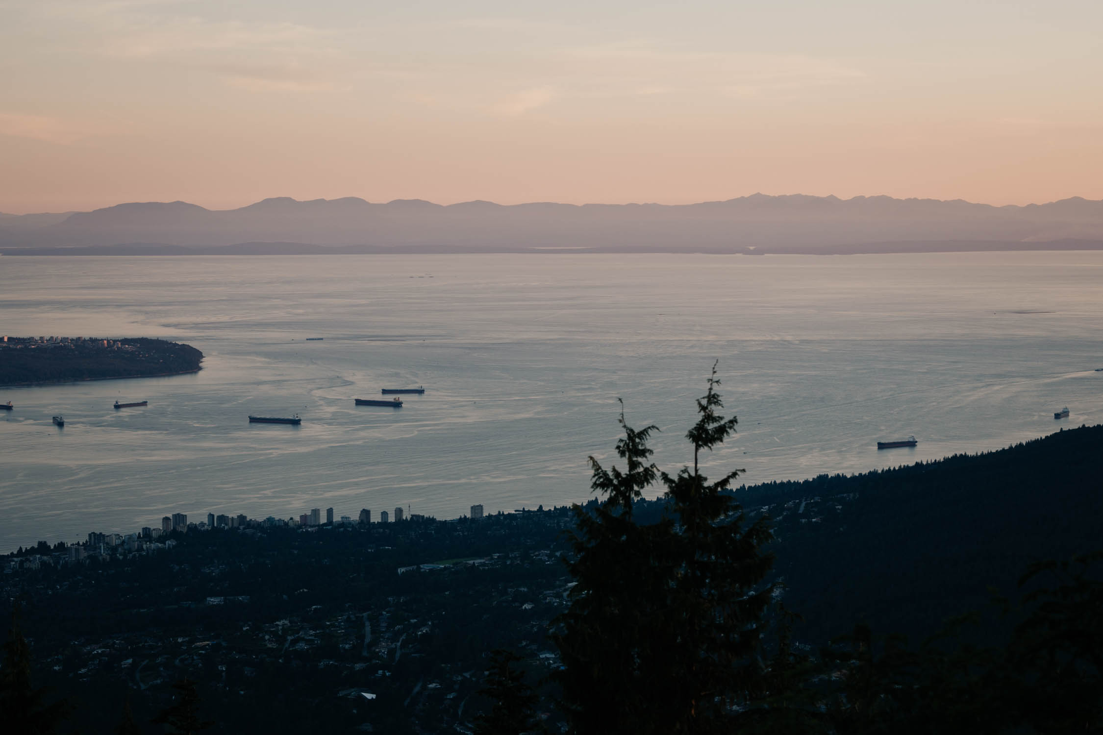 Sunset Best View Altitudes Bistro Vancouver Wedding Venue
