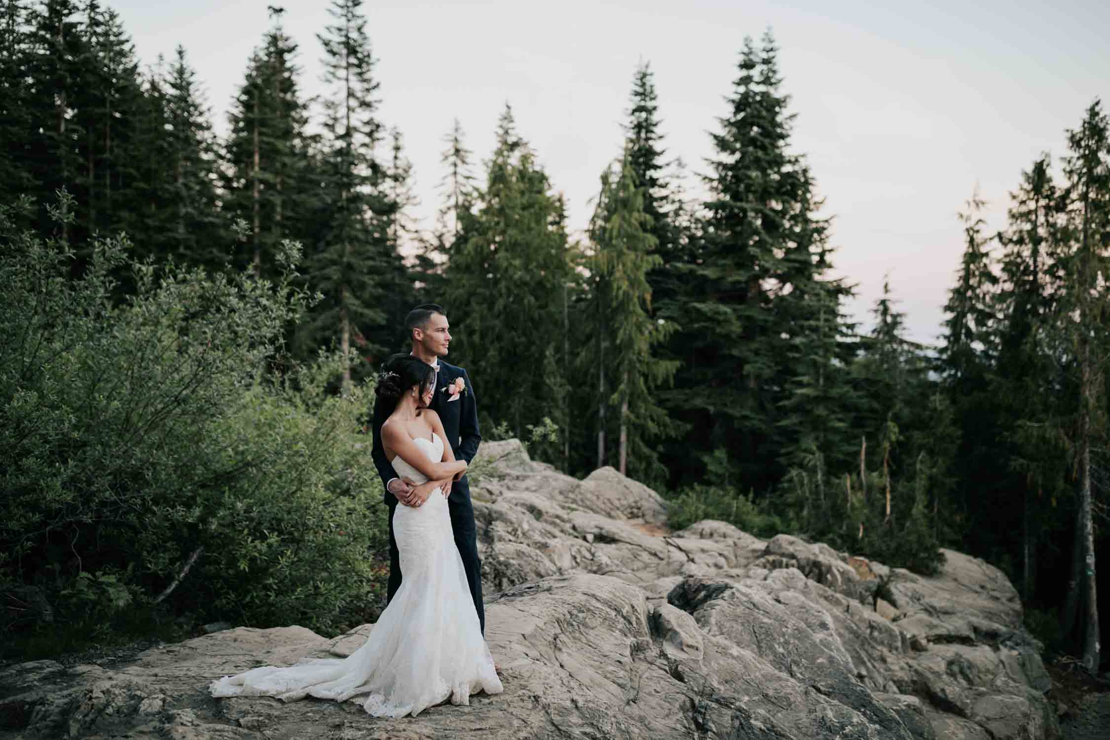 Best Wedding Portrait Session Grouse Mountain