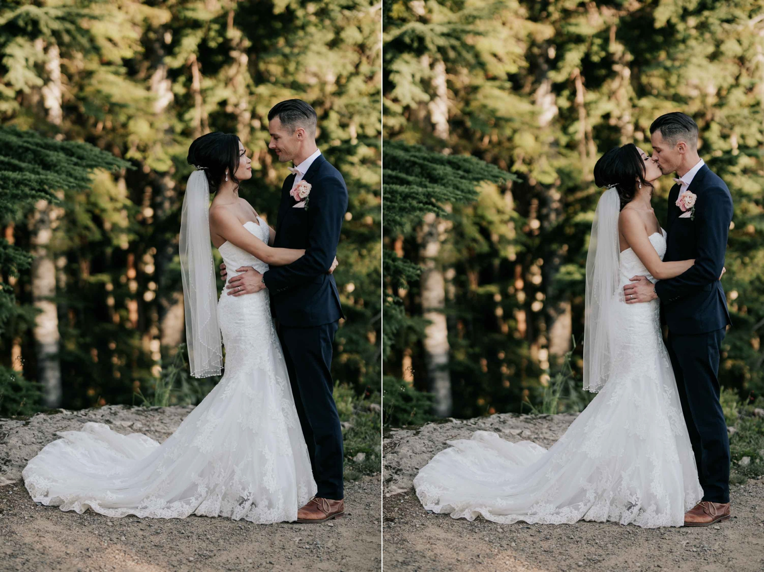 Intimate Natural Wedding Portrait Photographer Vancouver Island, BC