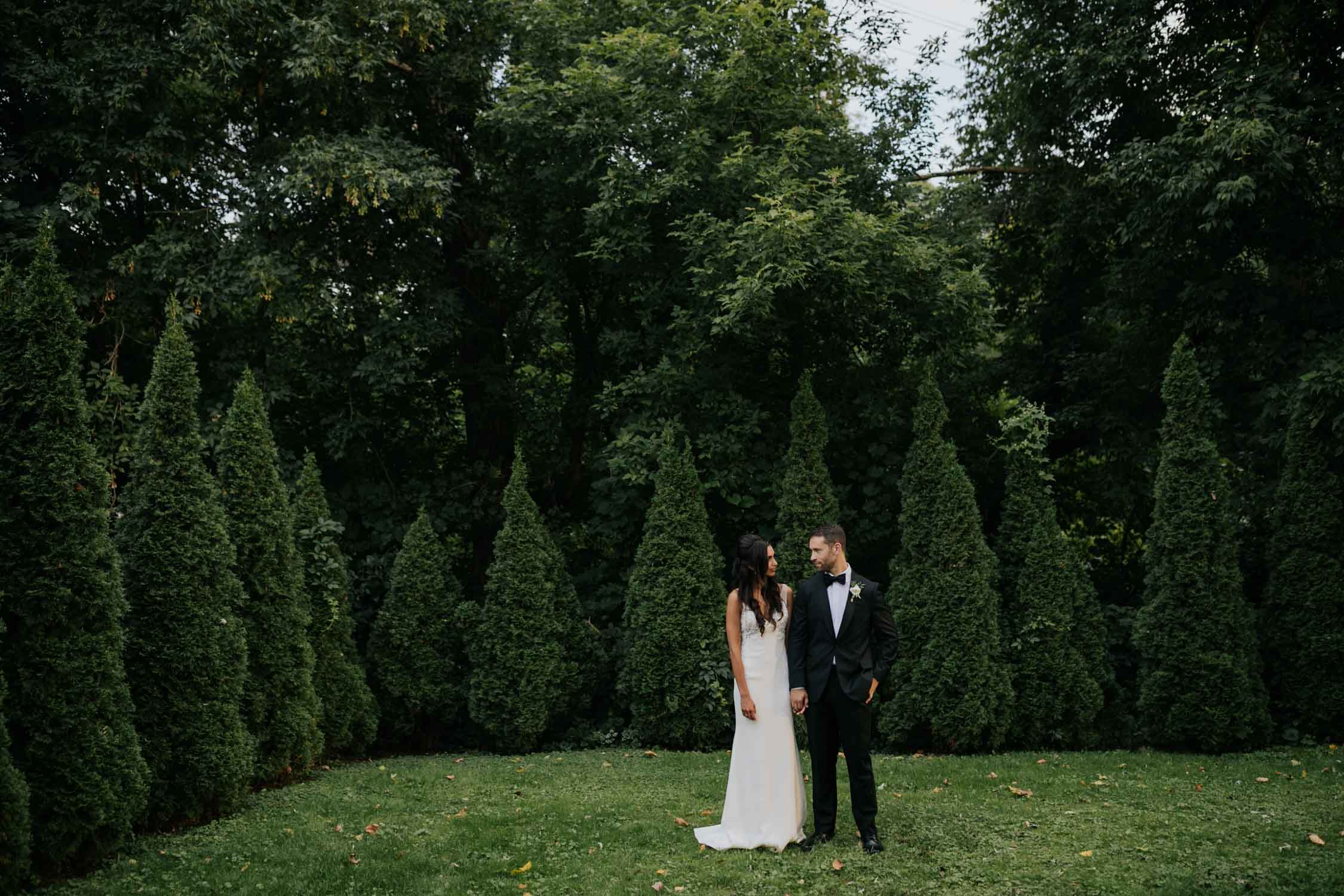 Documentary style Vancouver wedding photographer at Madsen's Greenhouse wedding venue in Newmarket close to Toronto