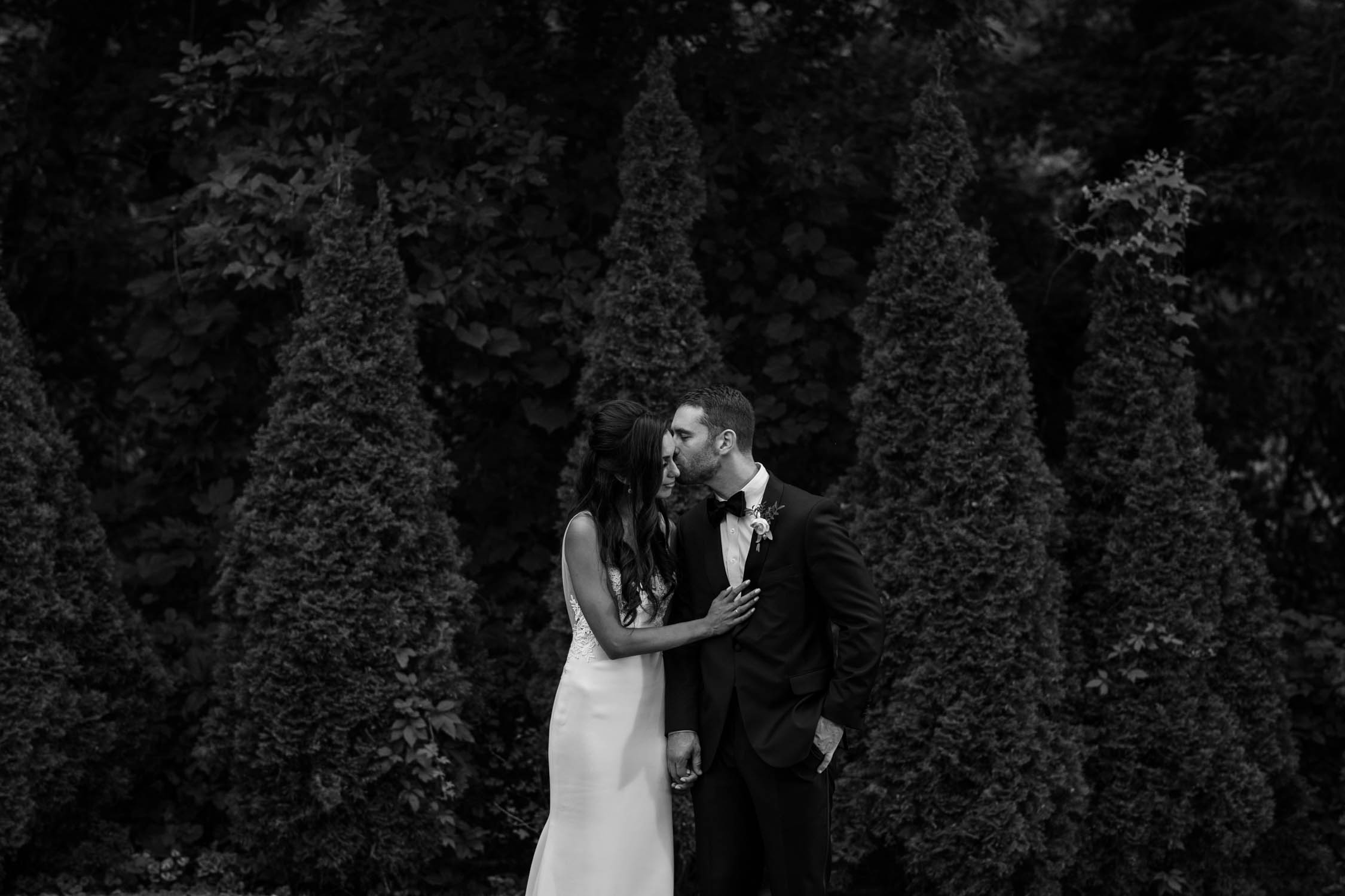 Award-winning Vancouver wedding photographer at Madsen's Greenhouse wedding venue in Newmarket close to Toronto