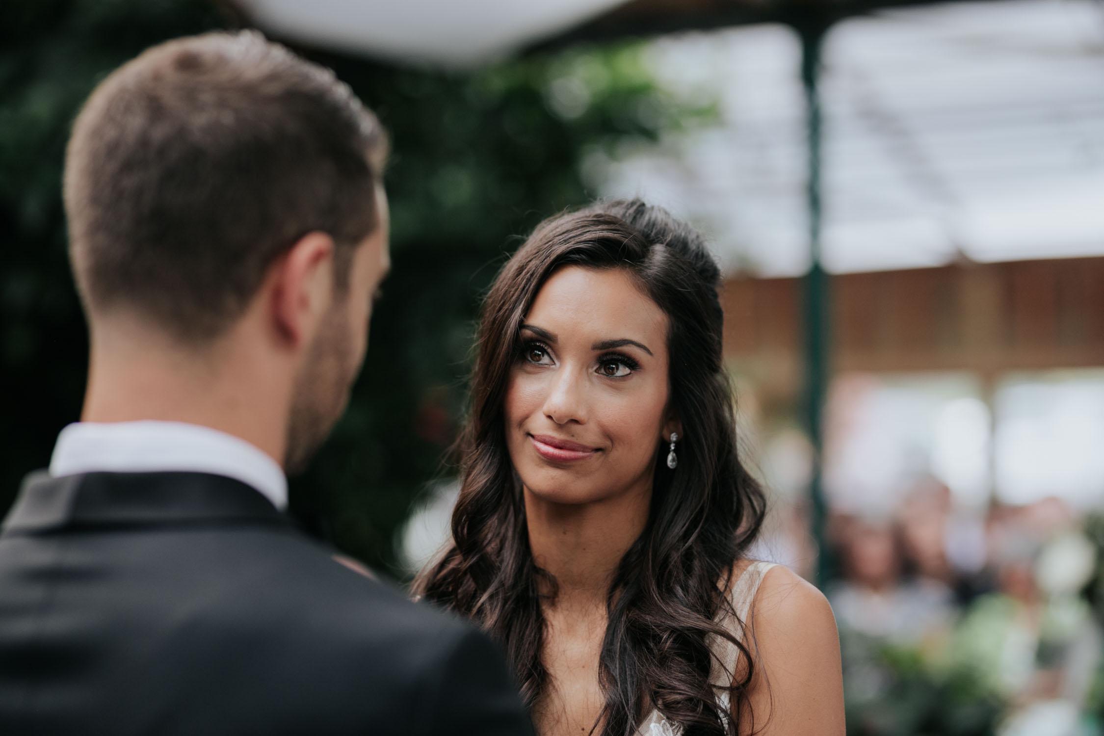 Romantic non cheesy wedding photographer at Madsen's Greenhouse wedding venue in Newmarket close to Toronto
