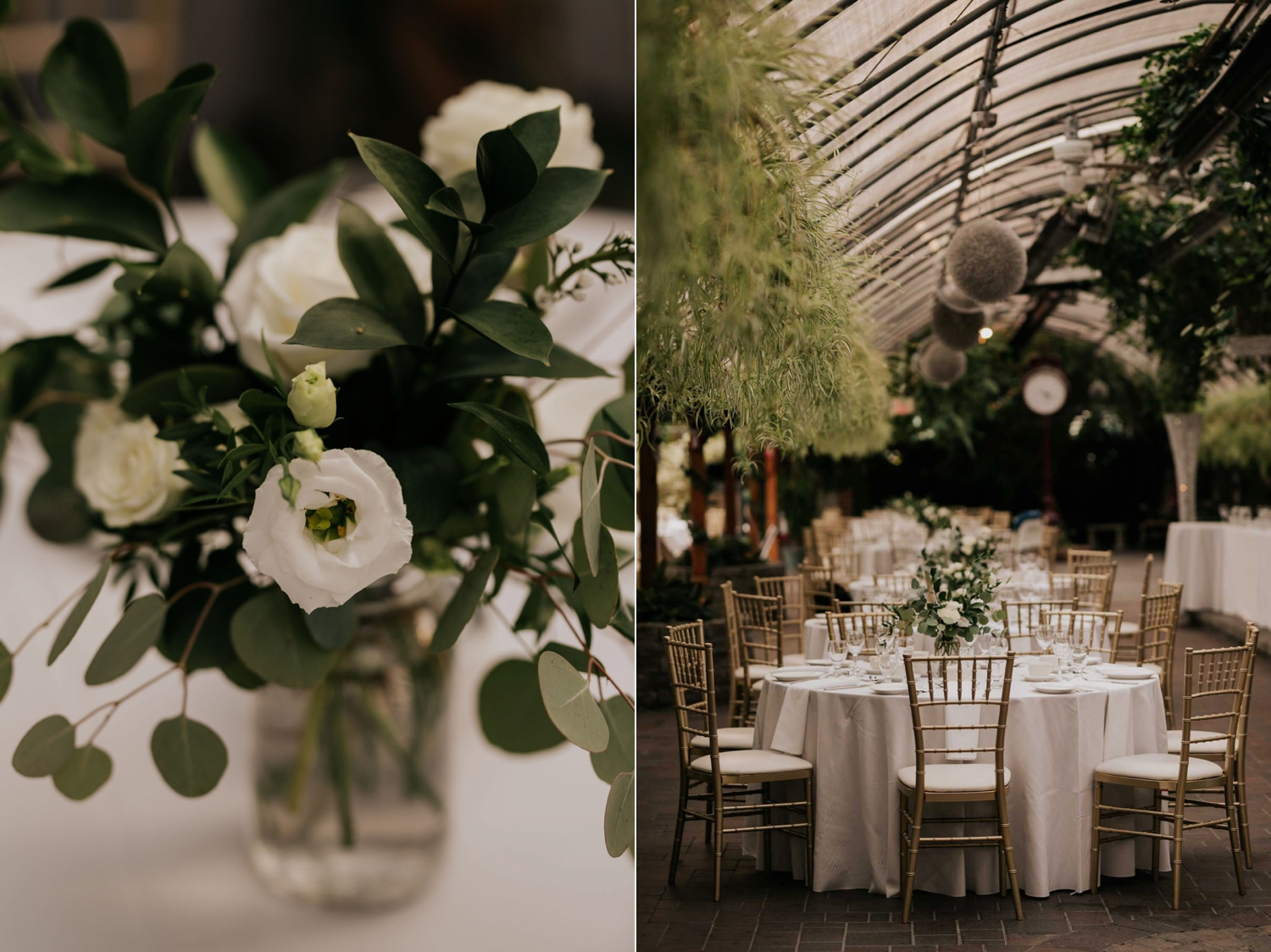 Madsen's Greenhouse wedding venue in Newmarket in Toronto by candid and photojournalist wedding photographer