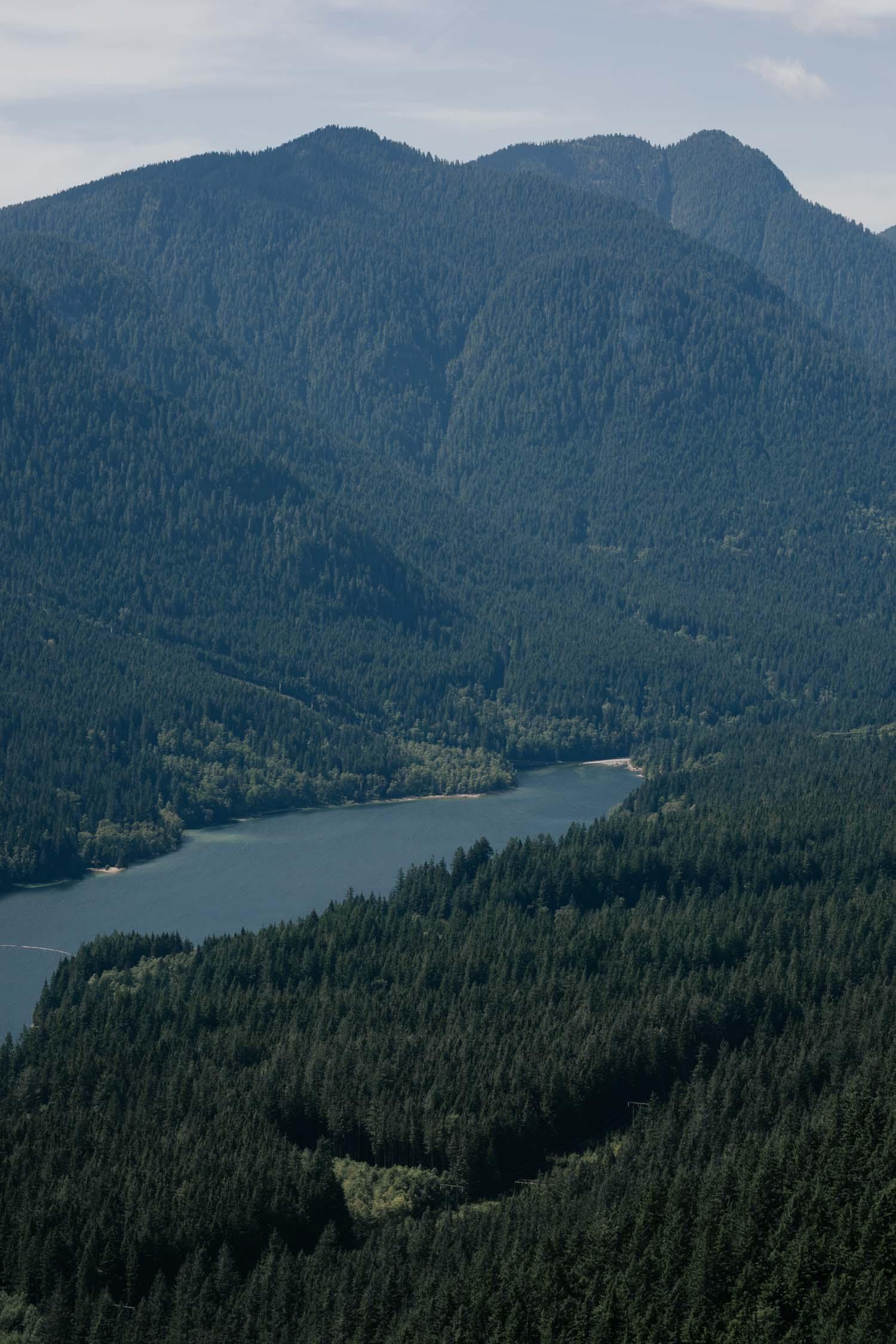 Grouse Mountain Wedding Venue Gondola Mountain Forest Sea View