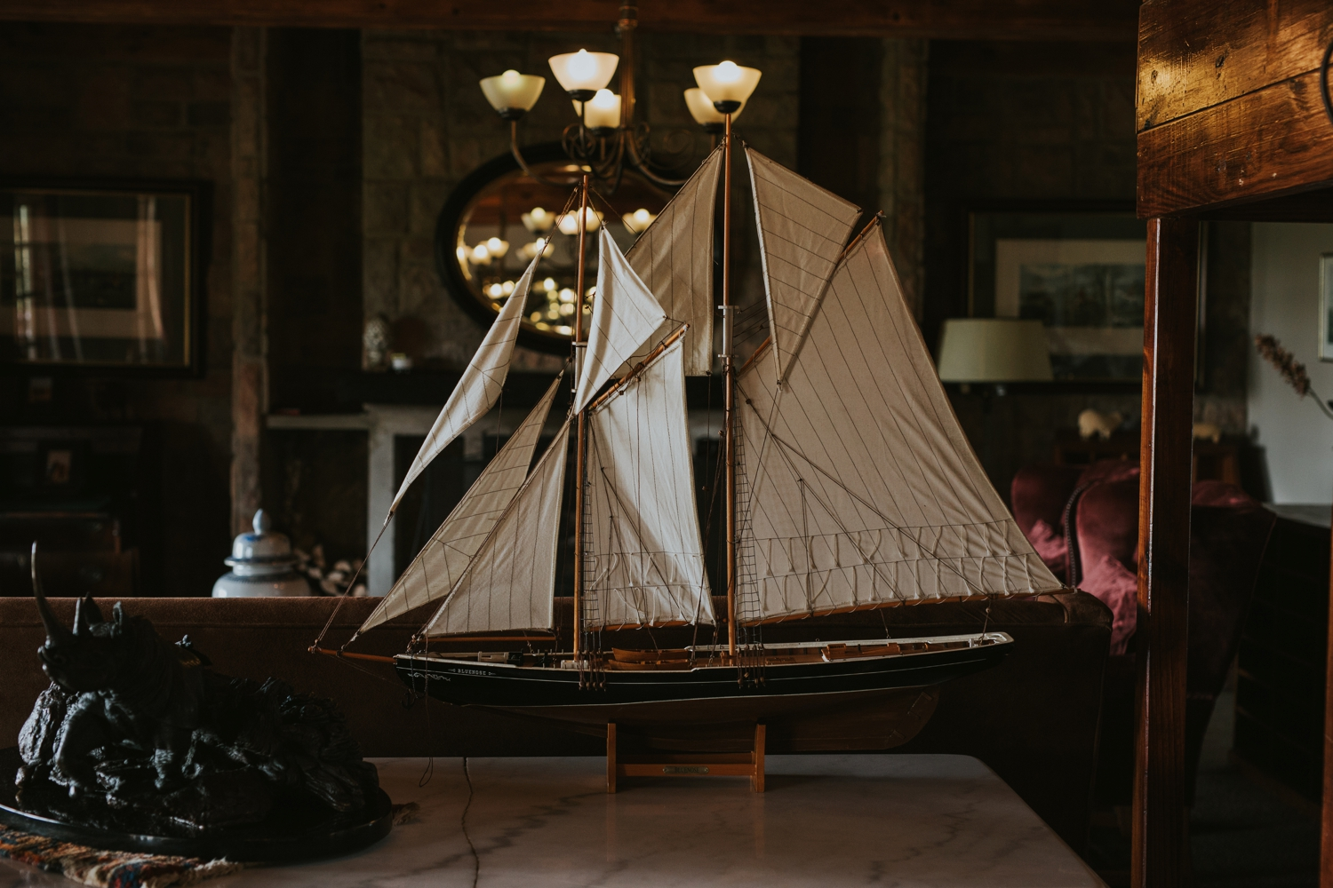 Old Model Boat Netherwood Wedding Venue