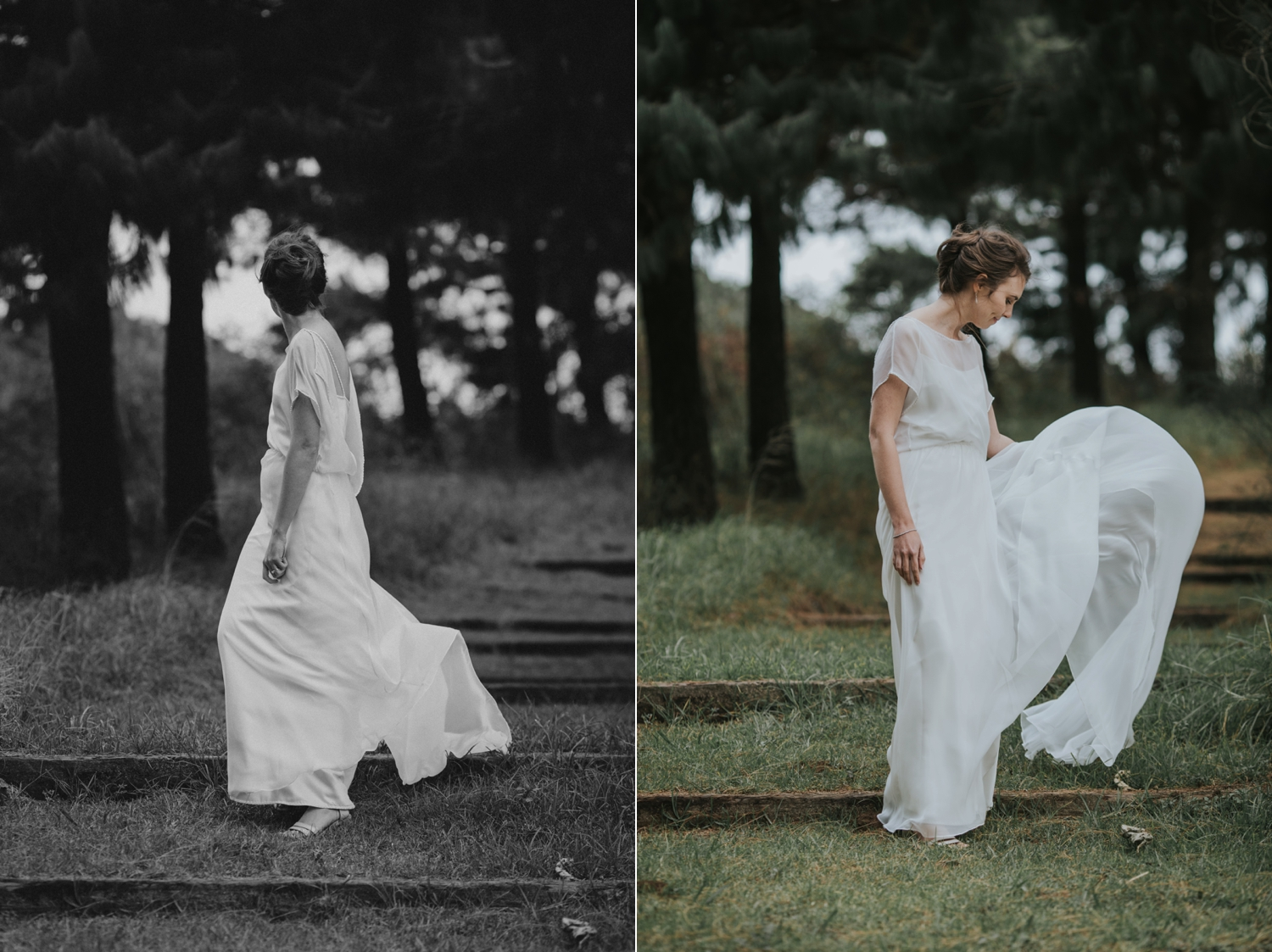 Natural and Unposed Bridal Portraits by Creative British Columbia Wedding Photographer