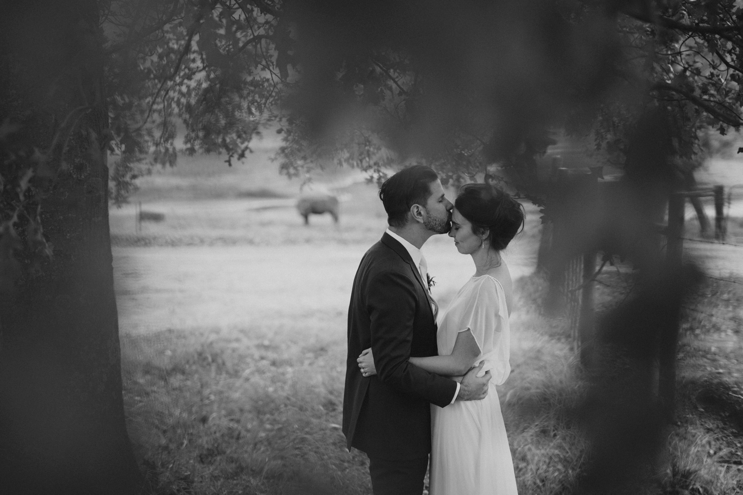 Beautiful and natural Wedding Portraits by best Vancouver Wedding Photographer