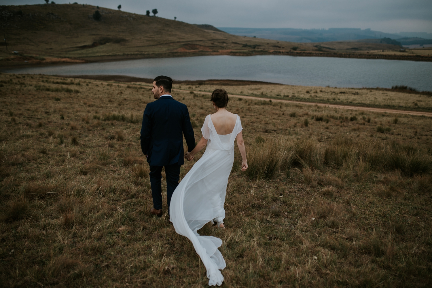 Beautiful Wedding Portraits by Documentary Style Vancouver Wedding Photographer in Nature