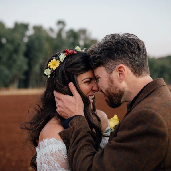 Glastonbury Inspired Wedding