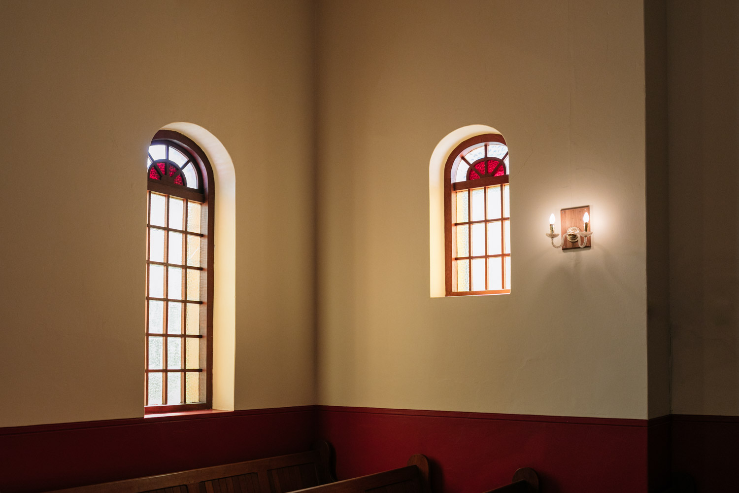 Stained Glass Windows In Clarens Wedding Church