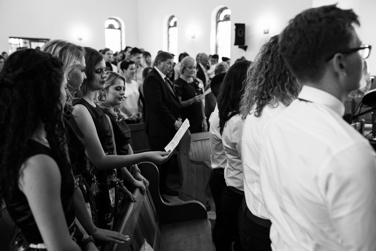 Bride And Groom Get Married In Old Heritage Church In Vancouver