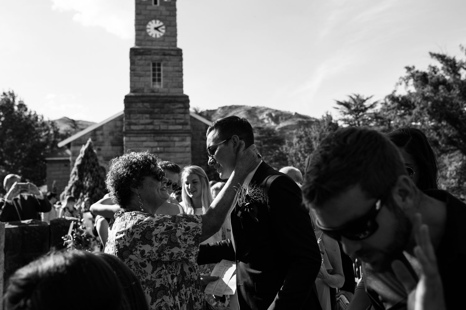 Mother Greets Son After He Gets Married Emotional Beautiful Wedding Moment
