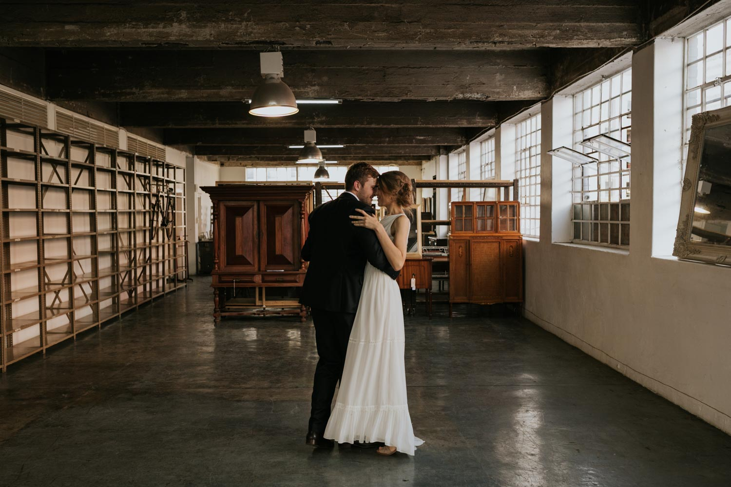 Couple Dance In Wedding Photography Session In Beautiful Vancouver City Venue
