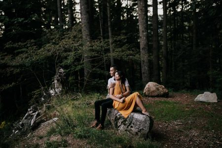 Epic photograph taken by North Vancouver Wedding Photographer in nature