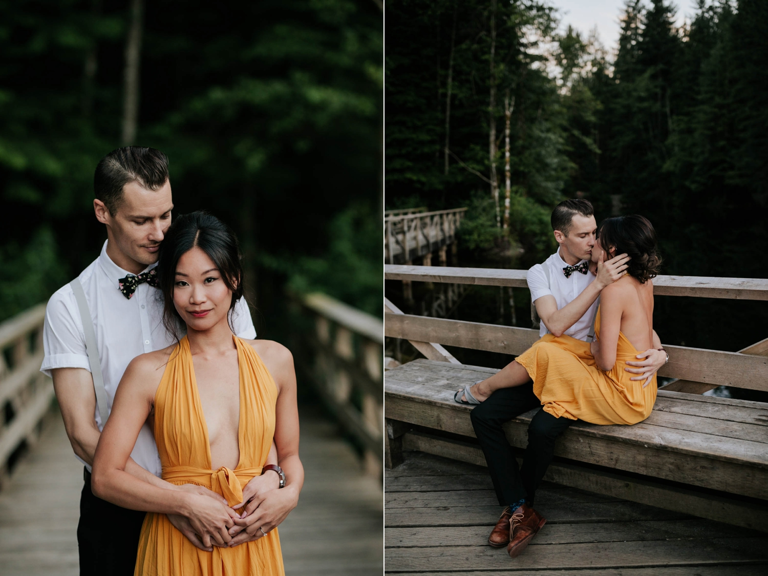 Outfit ideas for your engagement shoot.