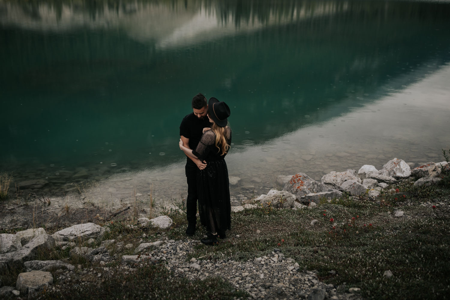 Lake Louise Engagement Photo Shoot