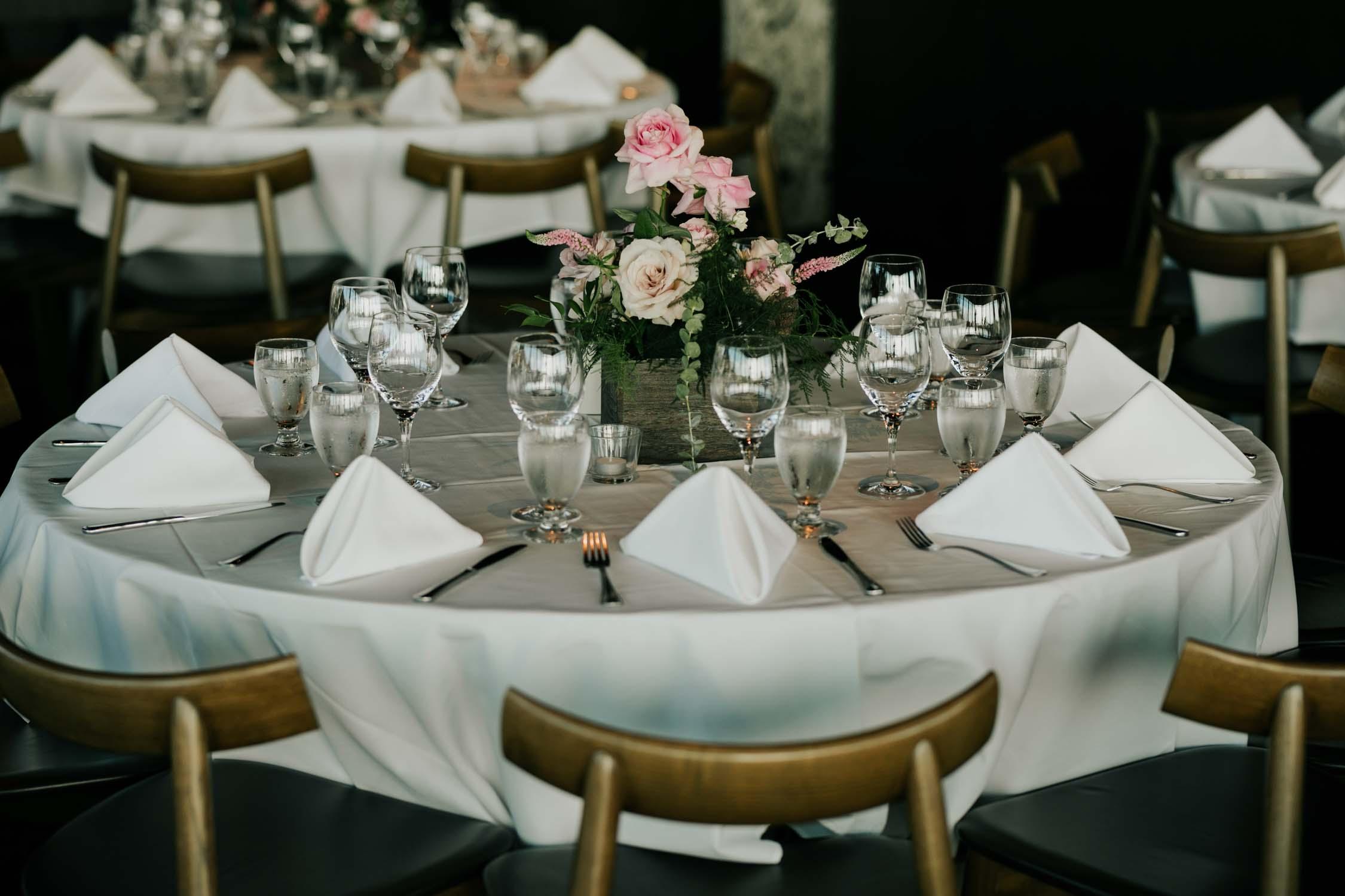 Minimalist Wedding Venue Altitudes Bistro Grouse Mountain