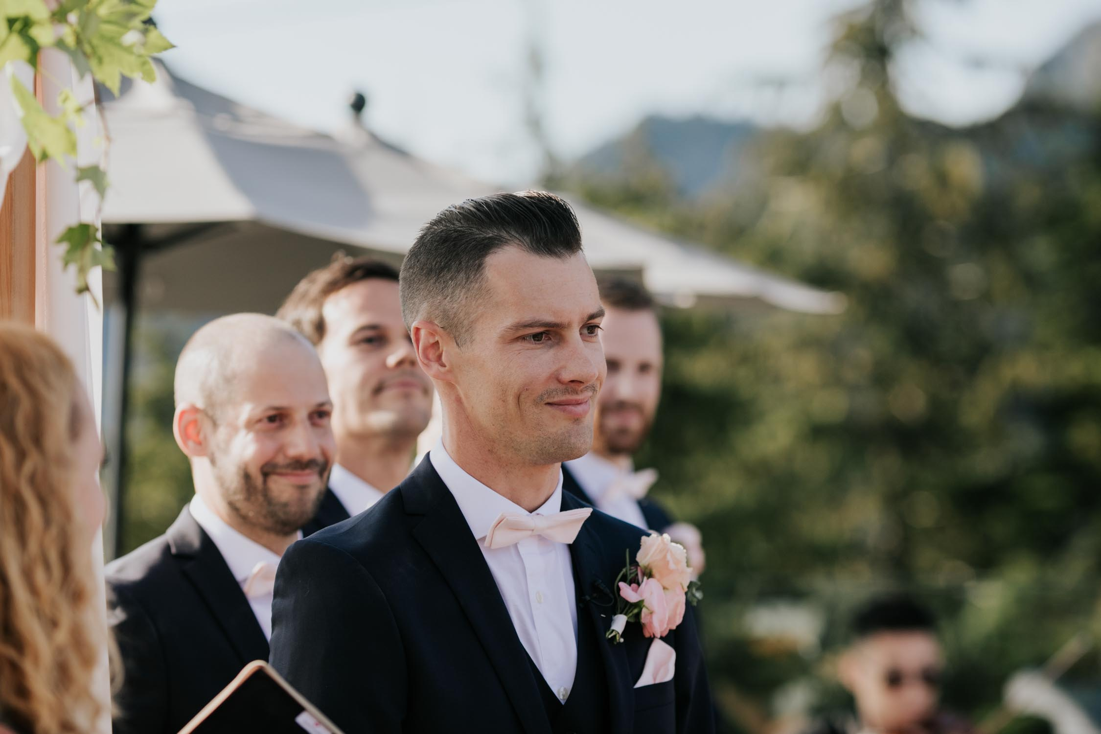 Altitudes Bistro Grouse Mountain Wedding Ceremony