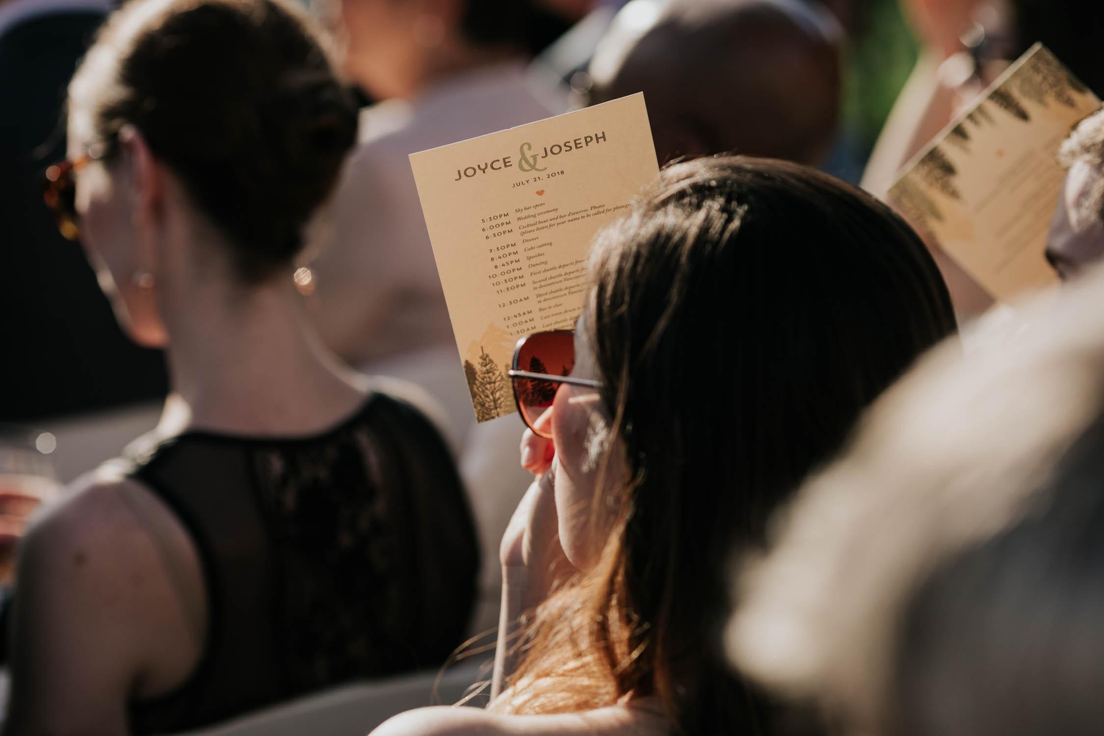 Wedding Stationary Designer Vancouver Canada