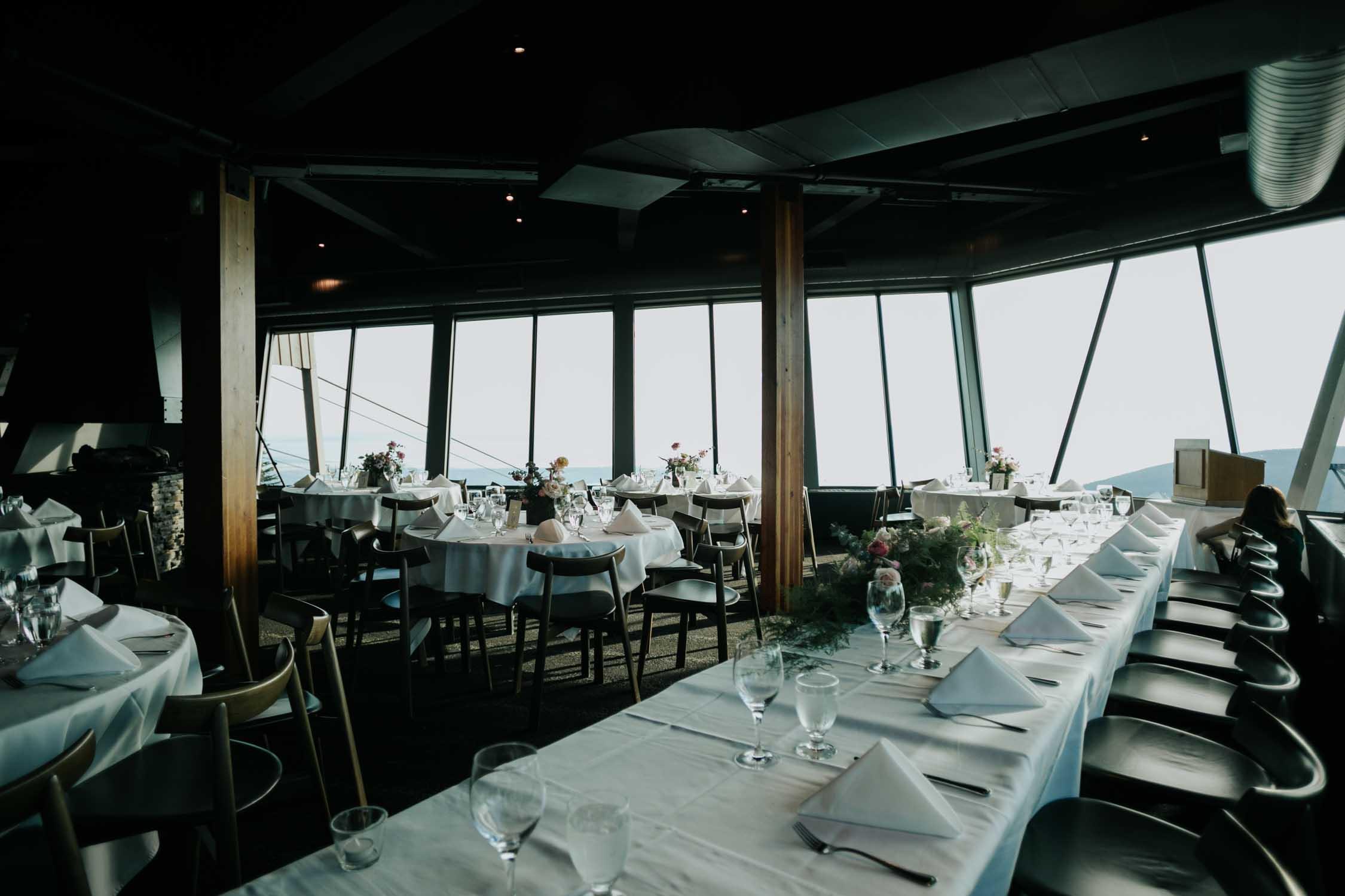 Scandi Interior Wedding Venue Vancouver Altitudes Bistro