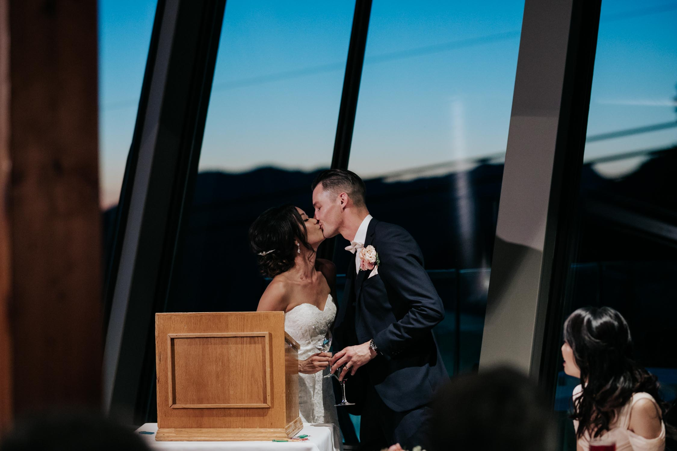 Groom And Bride Speech Together Tears Emotional Real Kiss