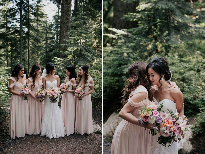 Pink Pastel Soft Off The Shoulder Trending Bridesmaids Dresses
