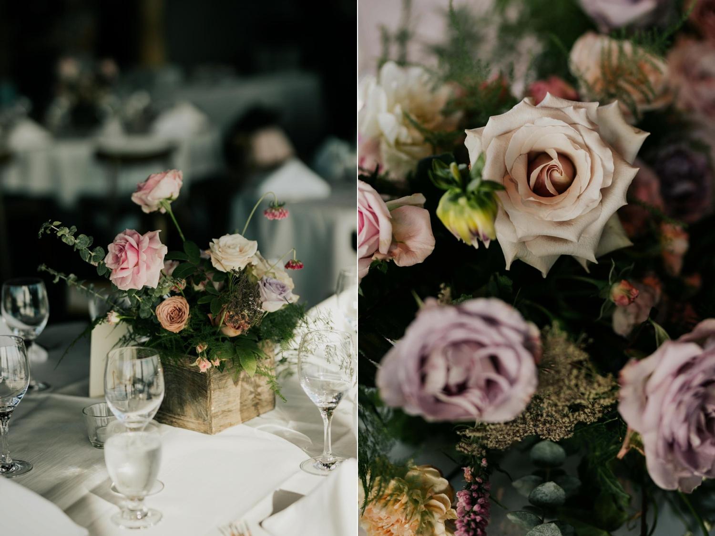 Wedding Table Flower Arrangement Ideas Soft Patel Simple Wooden Box
