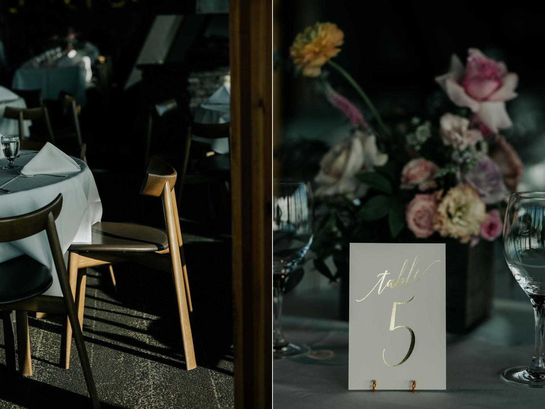 Minimalist Scandi Wedding Table Wedding Venue Vancouver