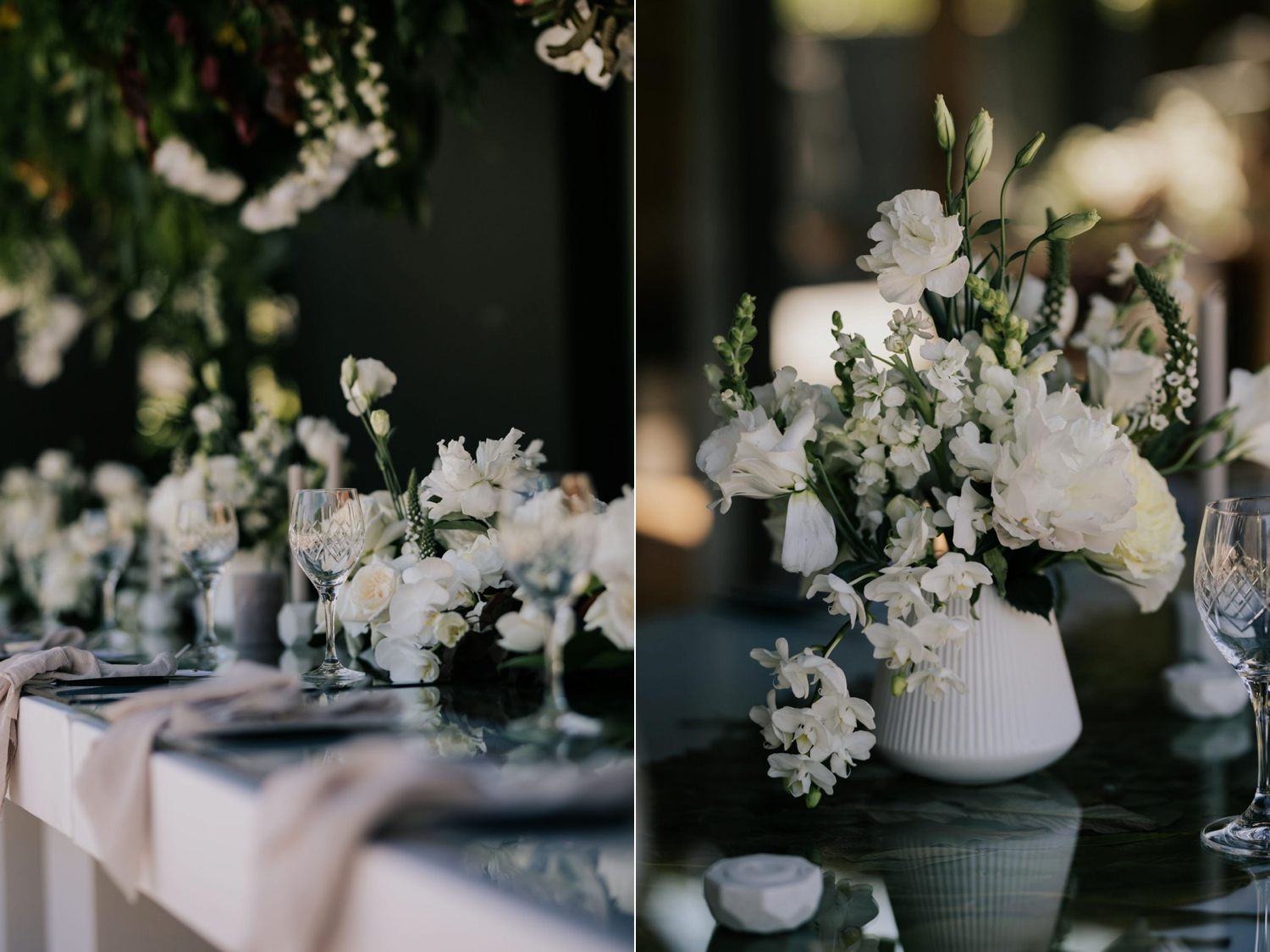 White Lilac Green Trending Wedding Decor Inspiration