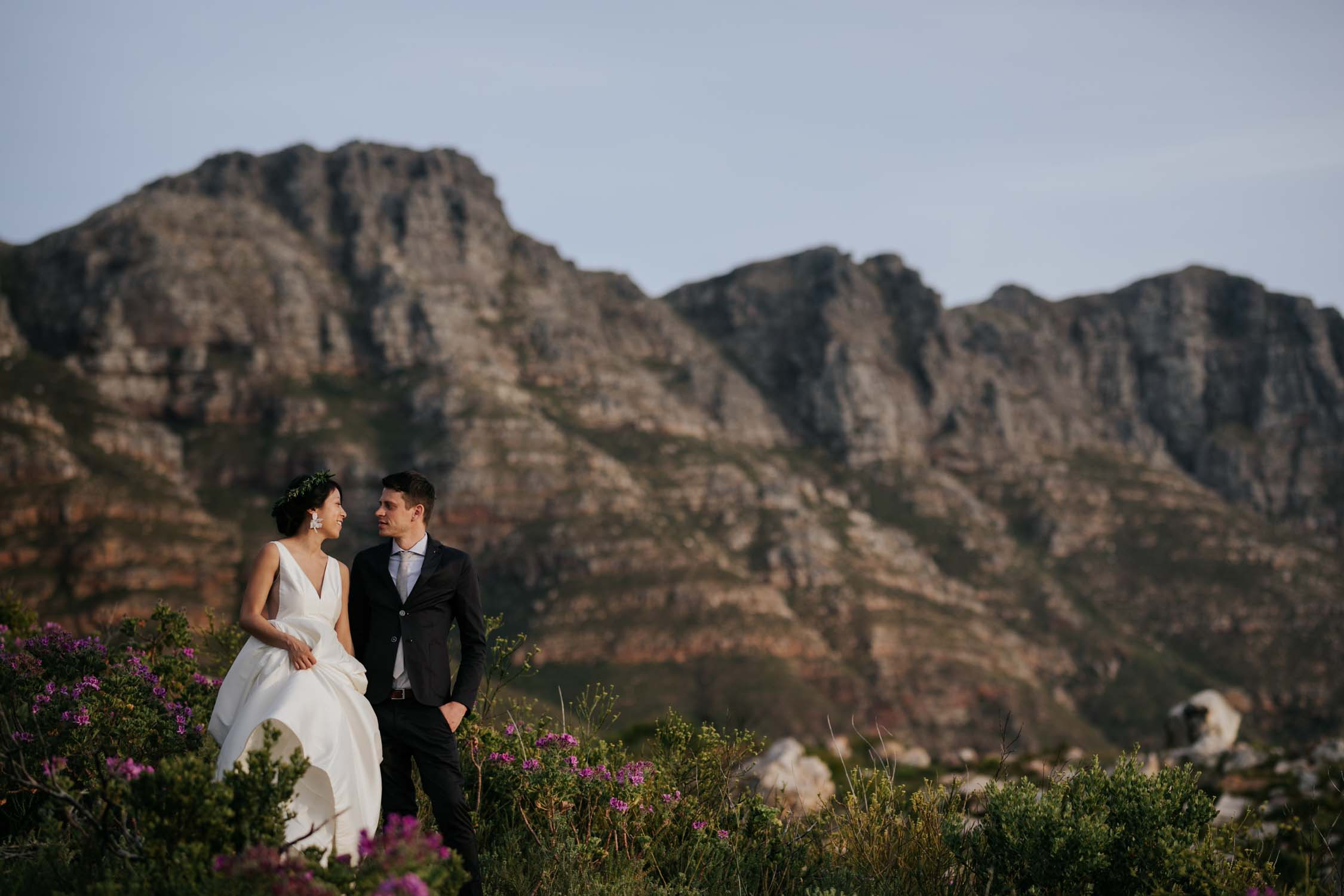 Epic Scenic Wedding Photos In Mountains