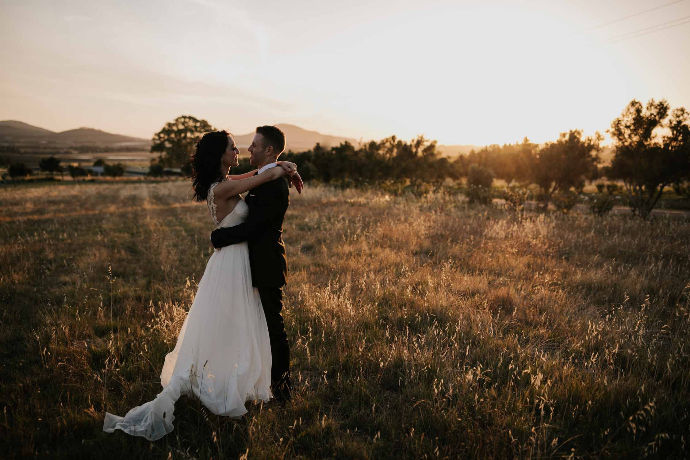 Golden Hour Vancouver Wedding Photographer