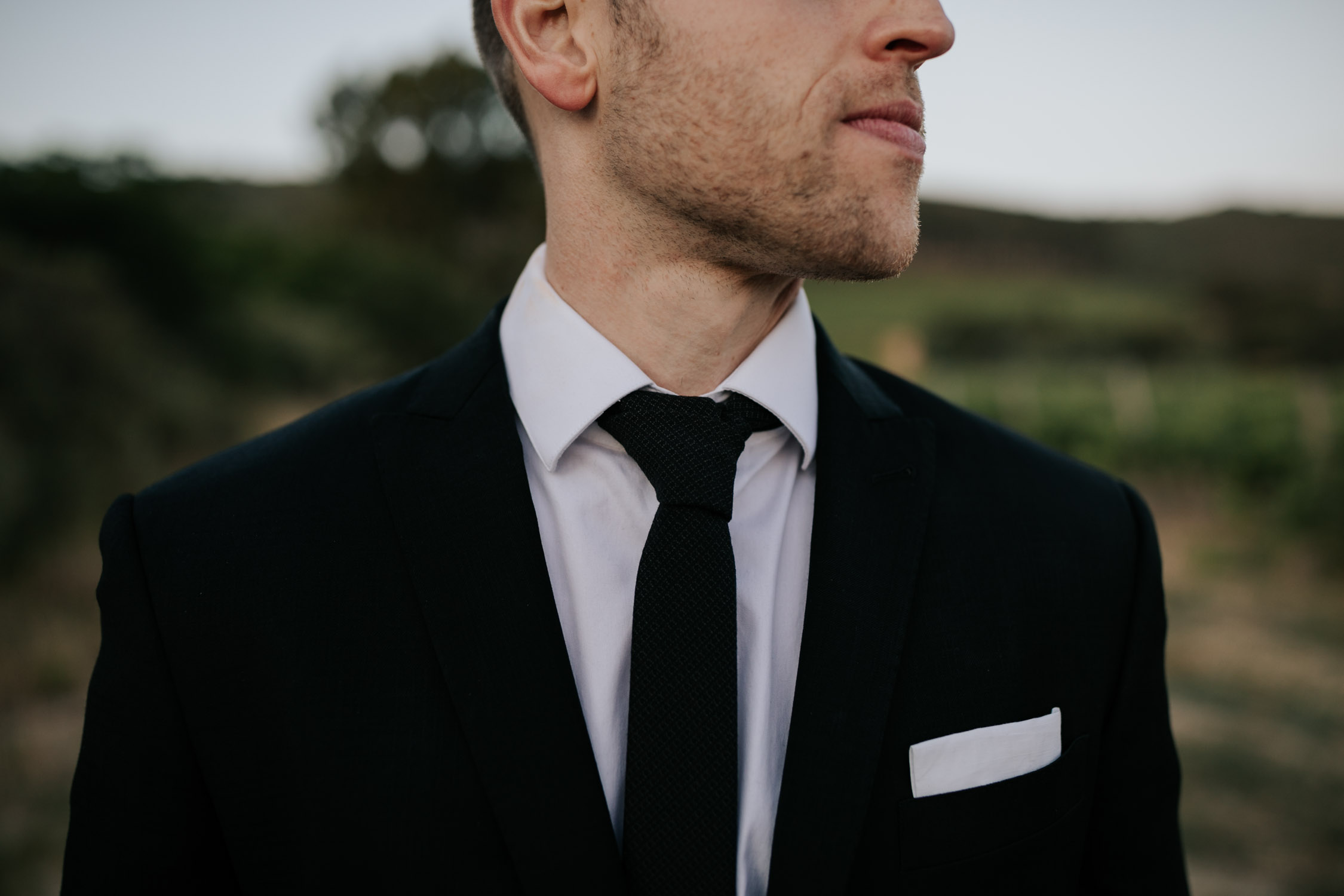 Groom portrait ideas
