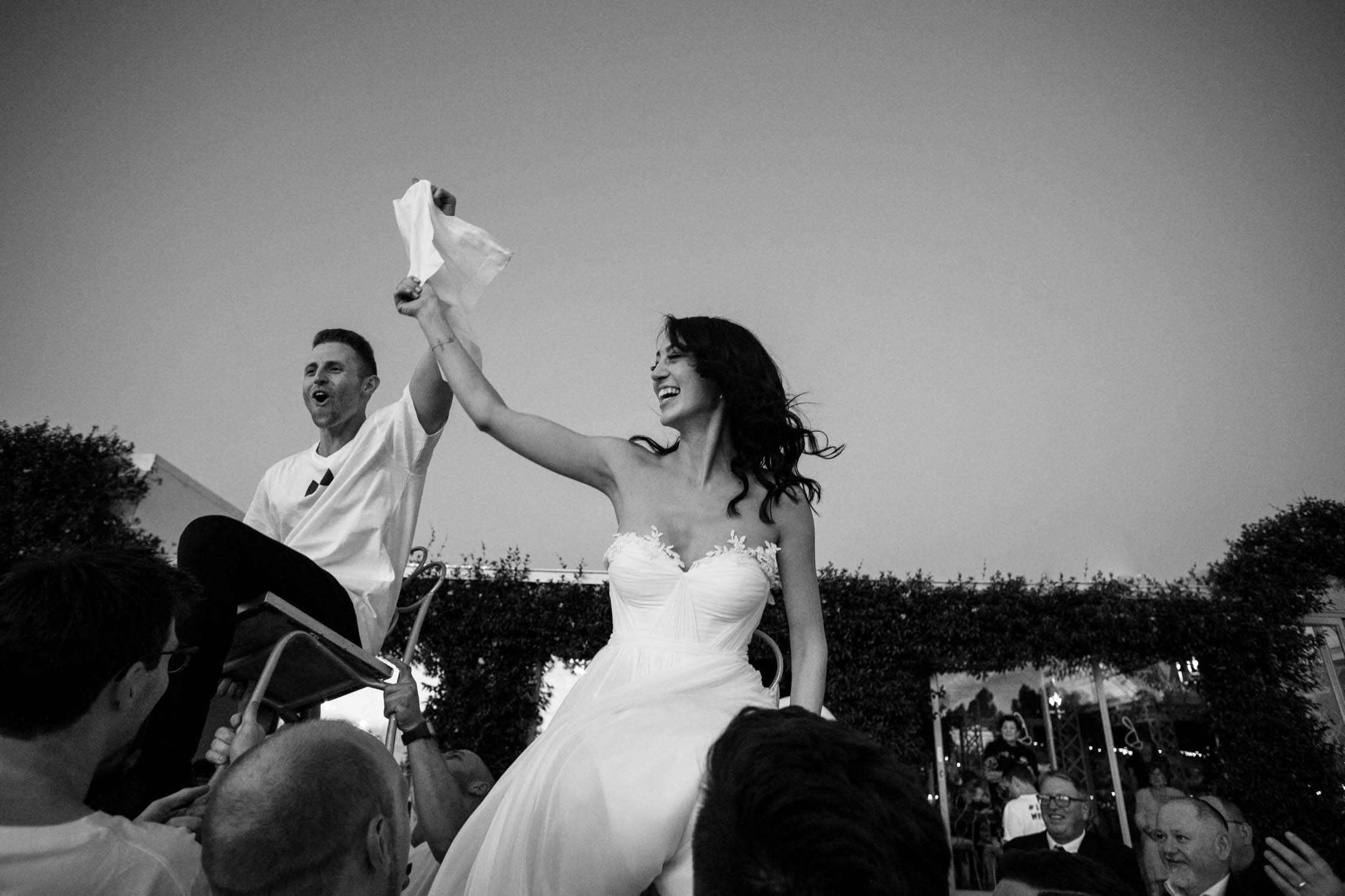 Epic photos from Jewish horas Cape Town Wedding Photographer