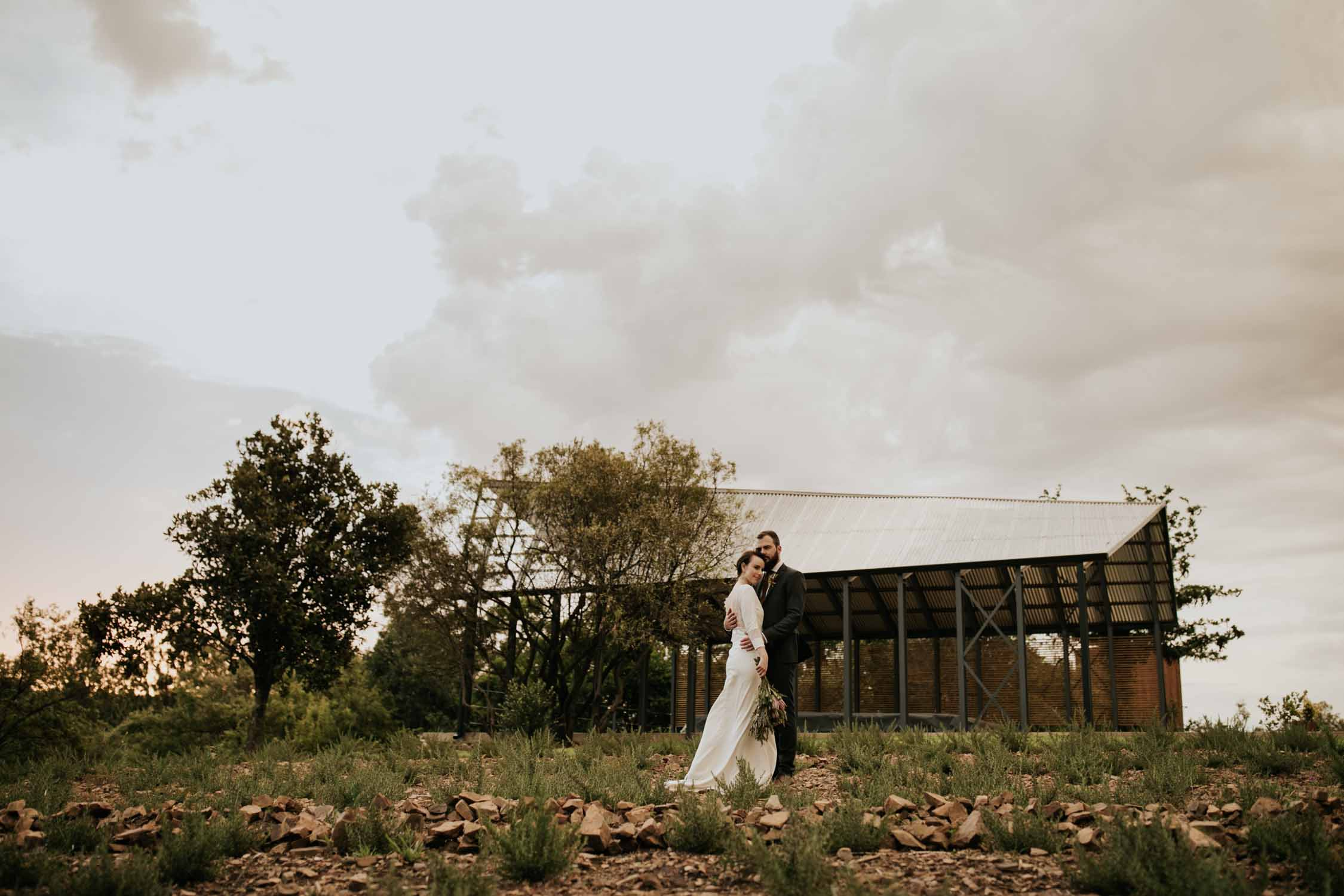 Modern and Industrial Wedding Venue in South Africa