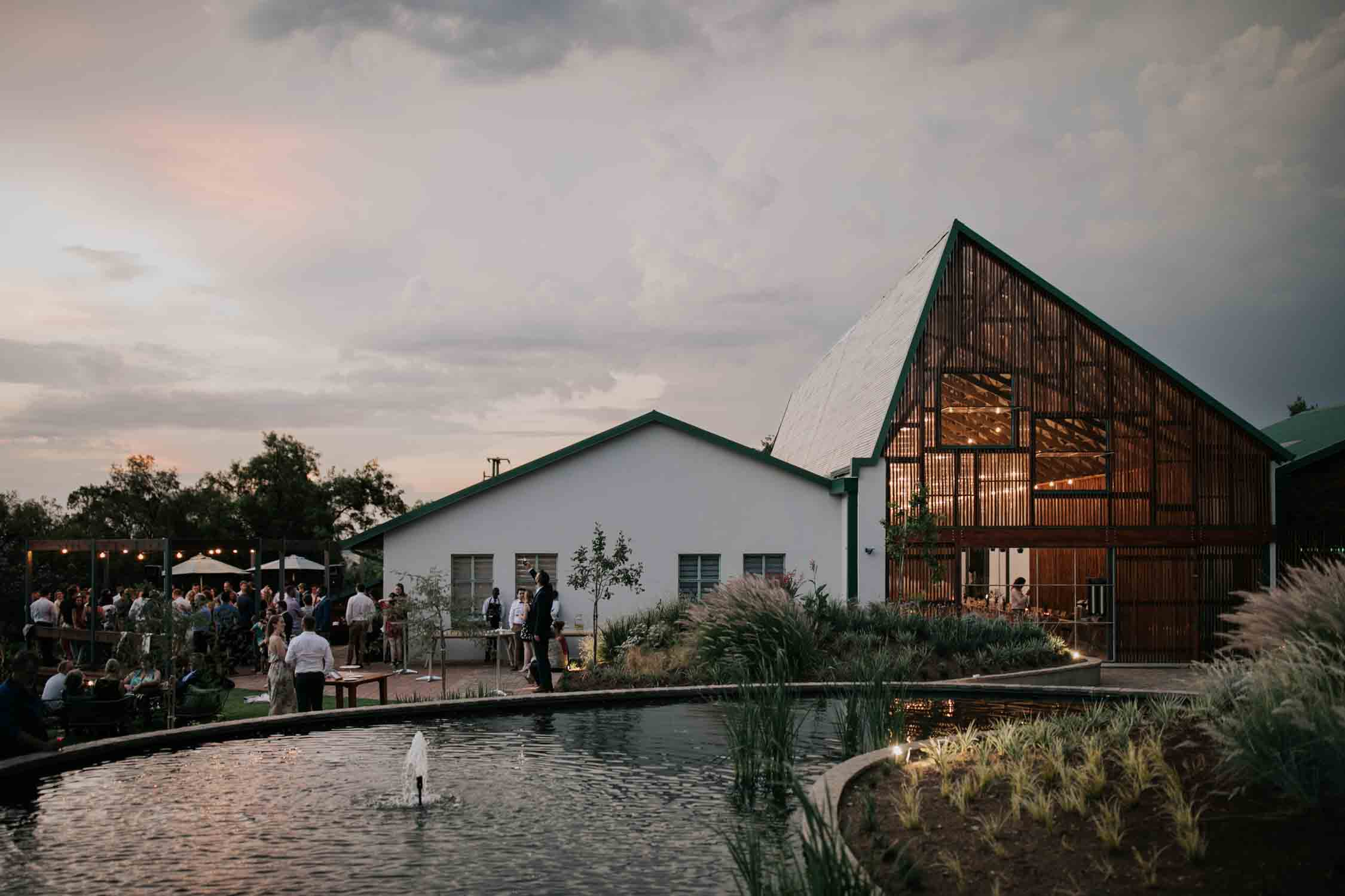 Best modern and nordic wedding venue in Johannesburg, South Africa