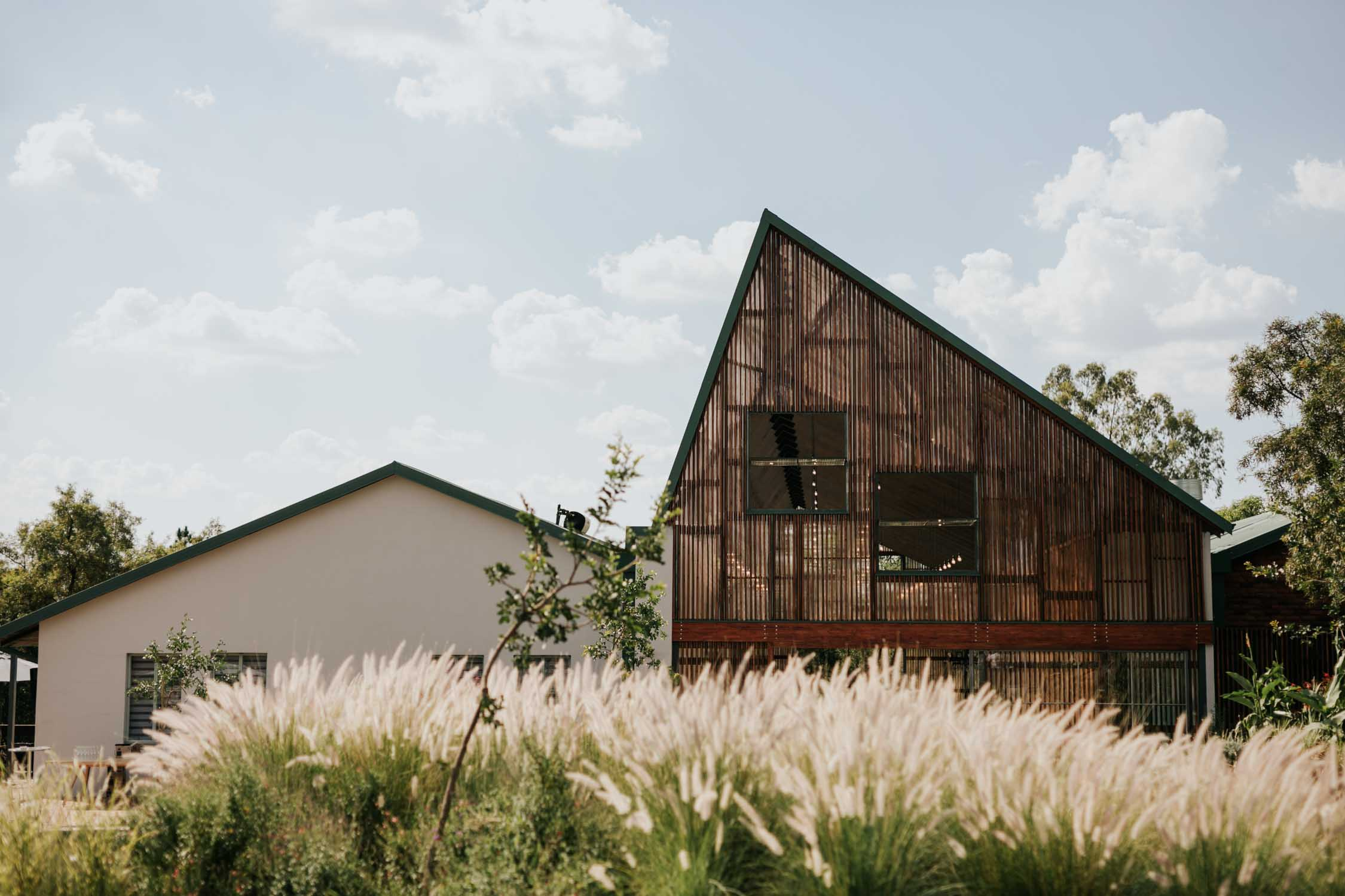 Modern, Scandi wedding venue close to Johannesburg