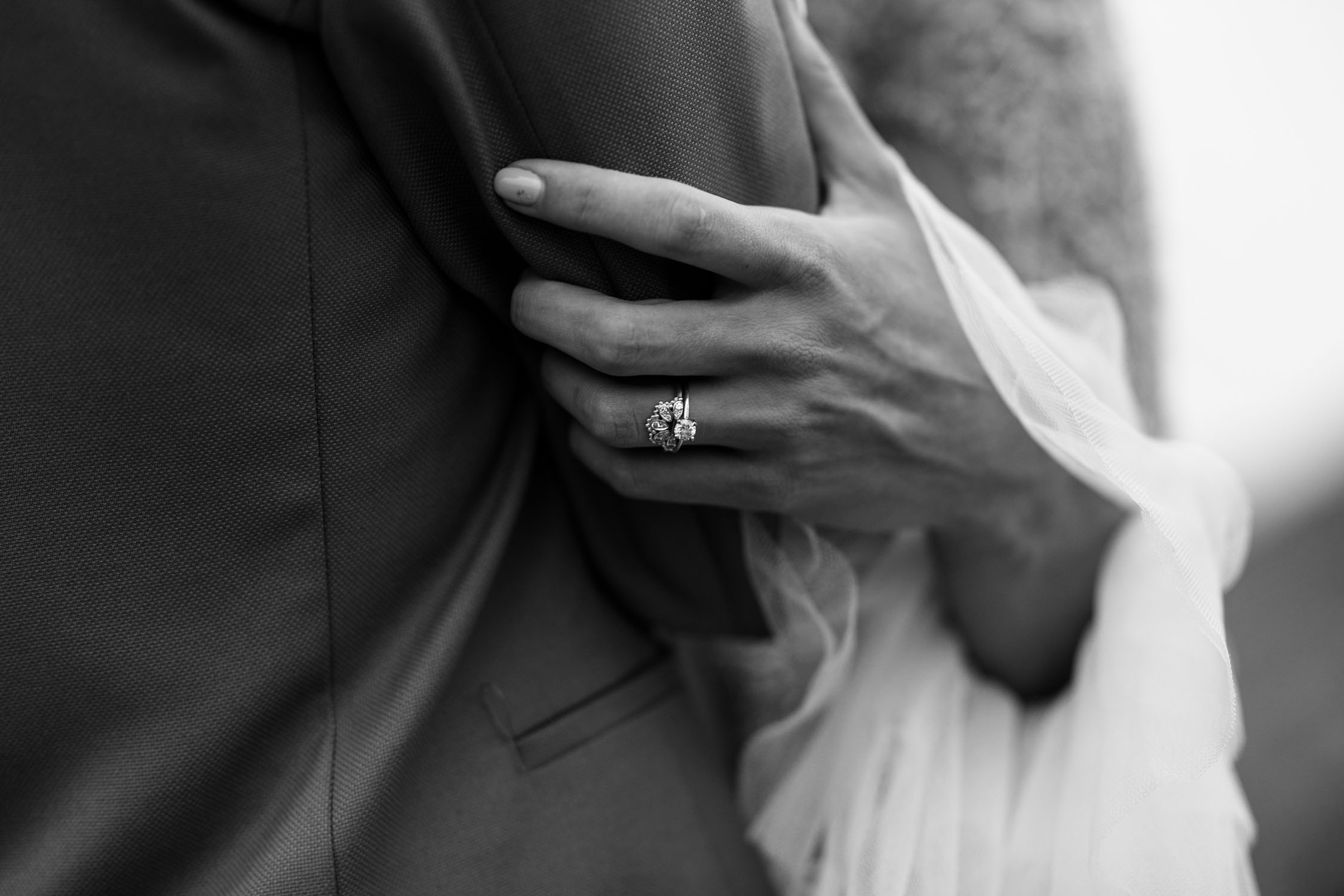 Incredible alternative wedding ring photo of sunshine ring