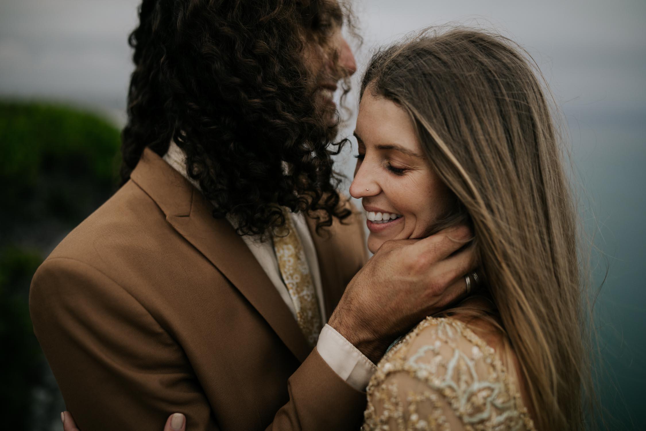 Natural and Photojournalistic Vancouver Island Wedding Photographer