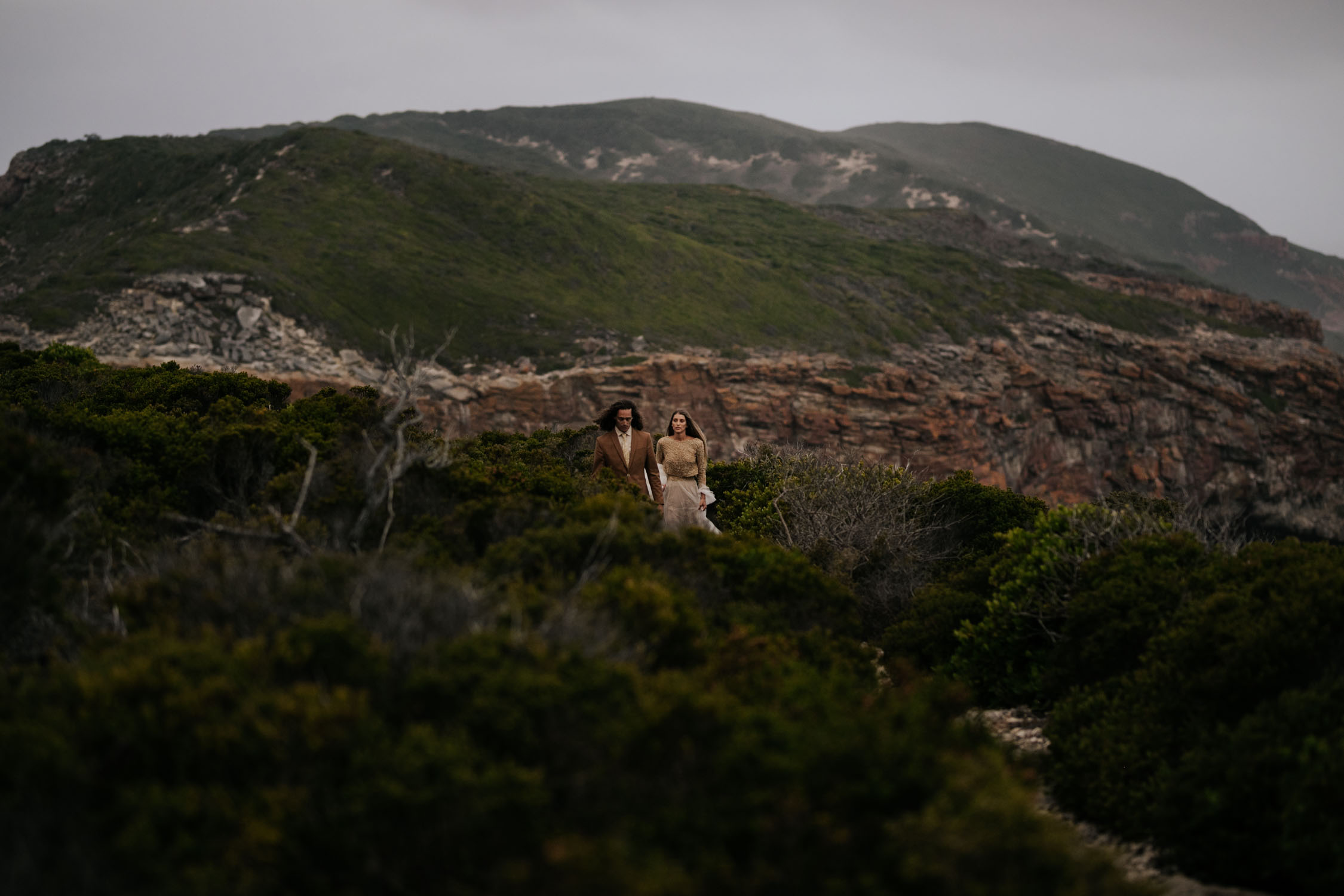 Robberg Nature Reserve the best location to have epic wedding photo shoot in Plett