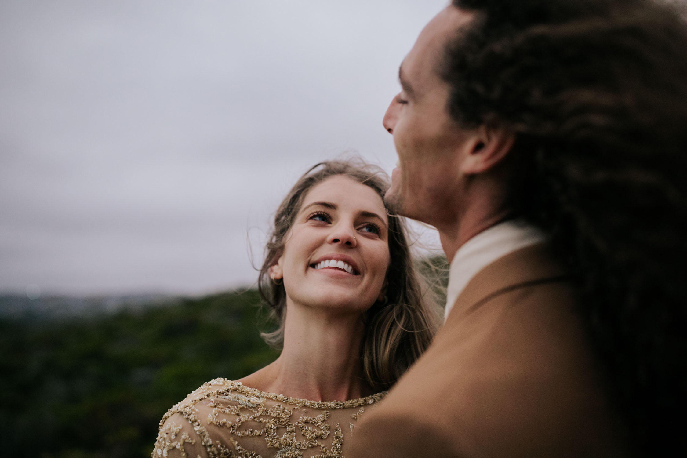 Dark and moody Vancouver Wedding Photographer