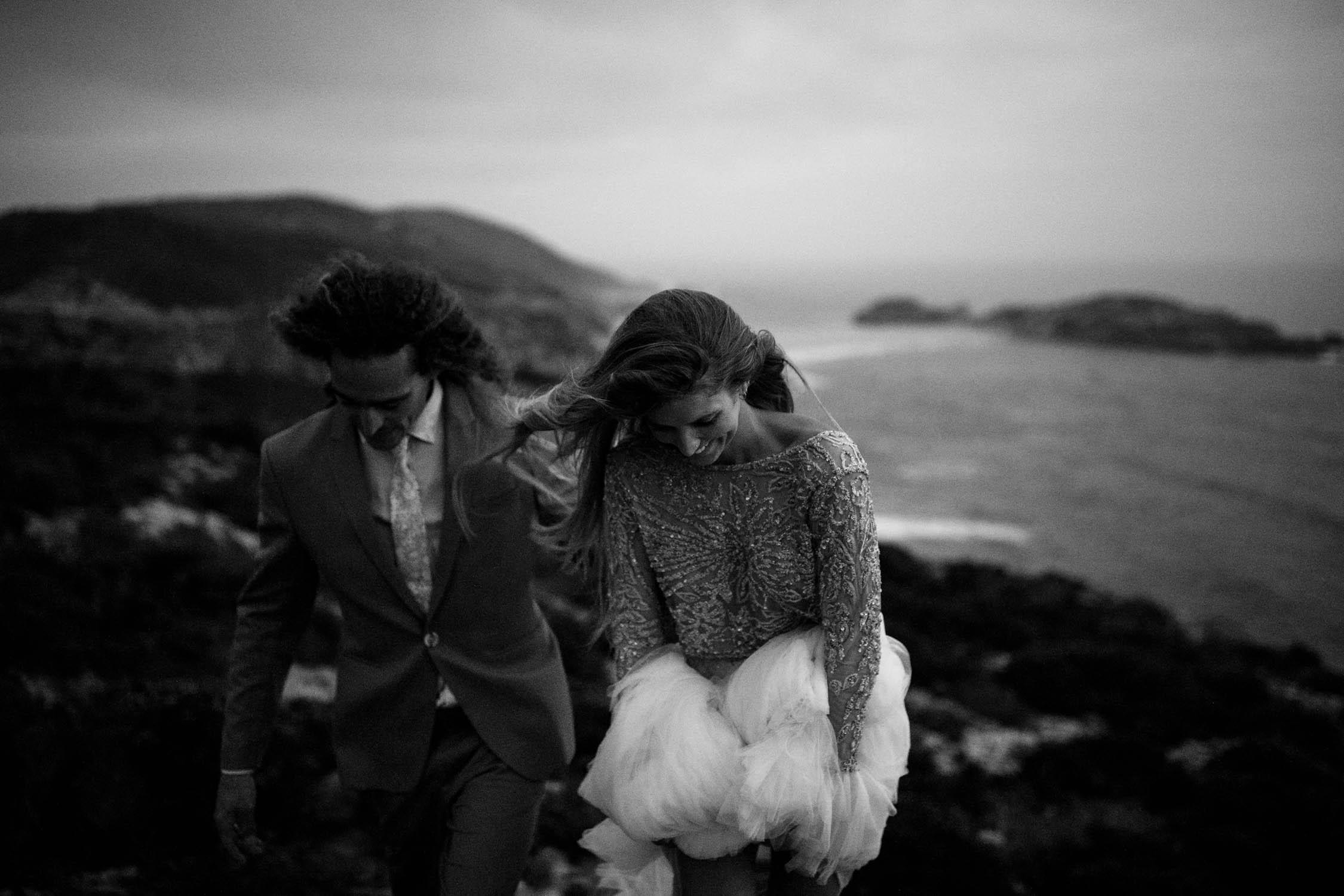 Dark and Moody Style Vancouver Wedding Photographer