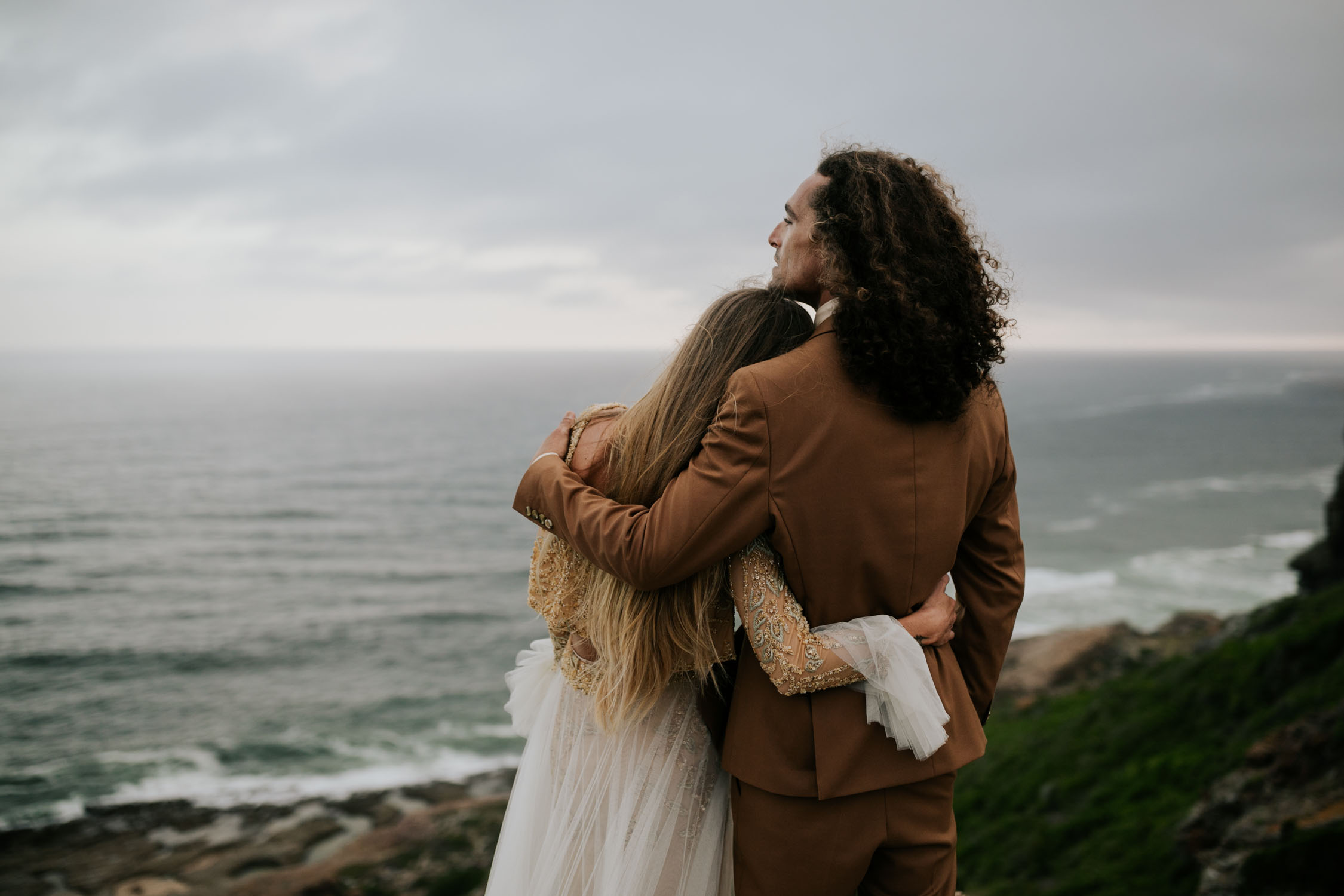 Natural and quiet moment captured by honest creative Vancouver Wedding Photographer